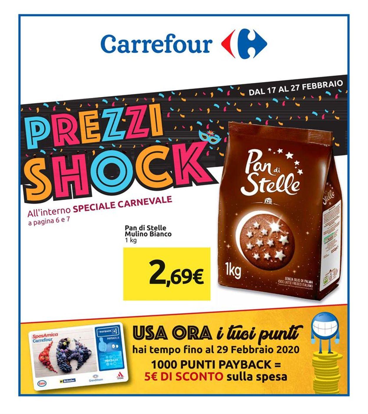 Volantino Carrefour - Offerte 17/02-27/02/2020