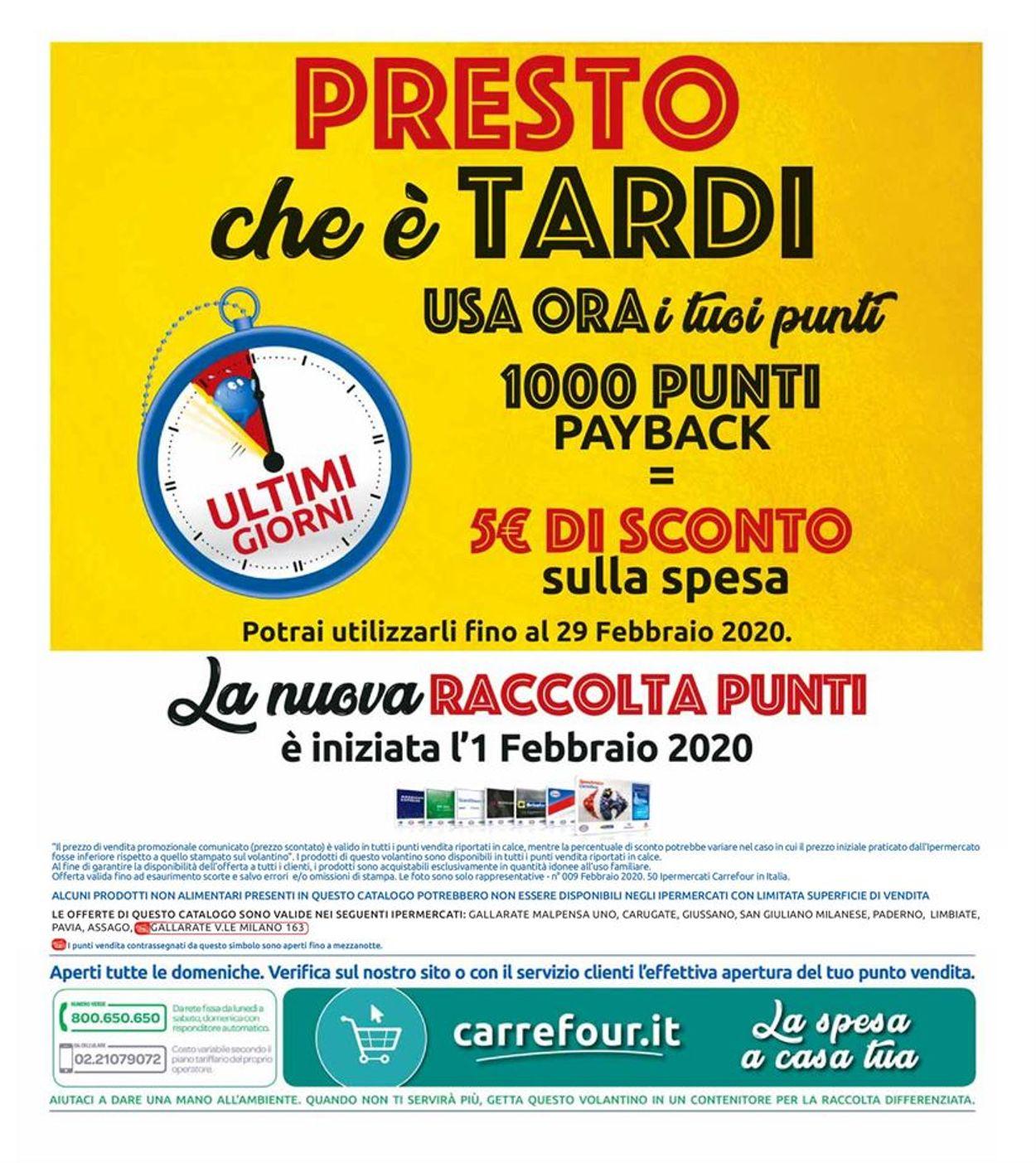 Volantino Carrefour - Offerte 17/02-27/02/2020 (Pagina 32)