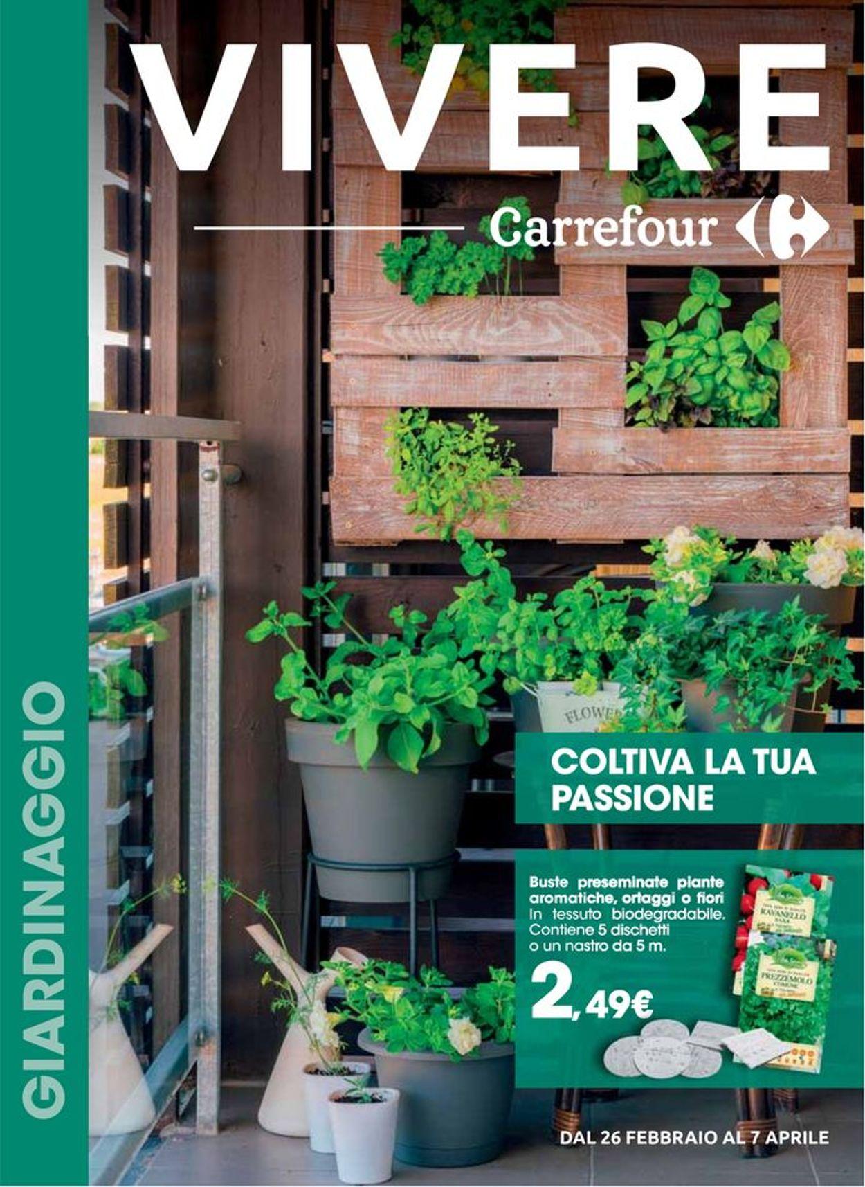 Volantino Carrefour - Offerte 26/02-07/04/2020