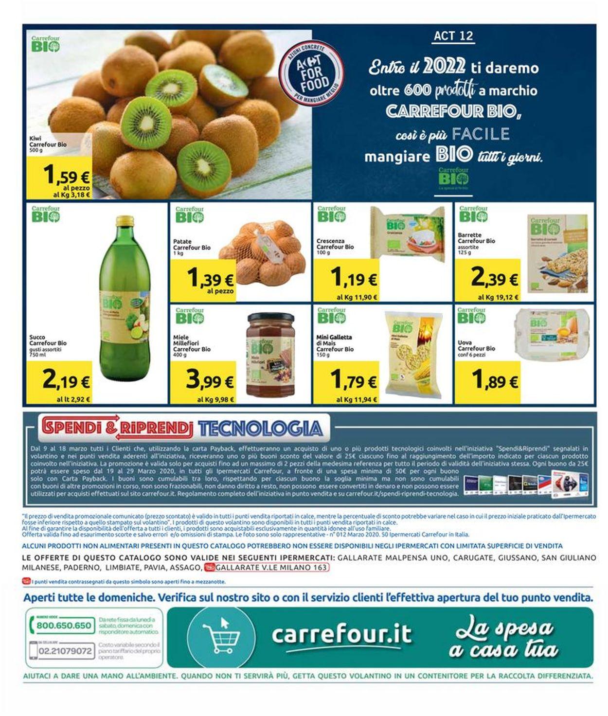 Volantino Carrefour - Offerte 09/03-18/03/2020 (Pagina 32)