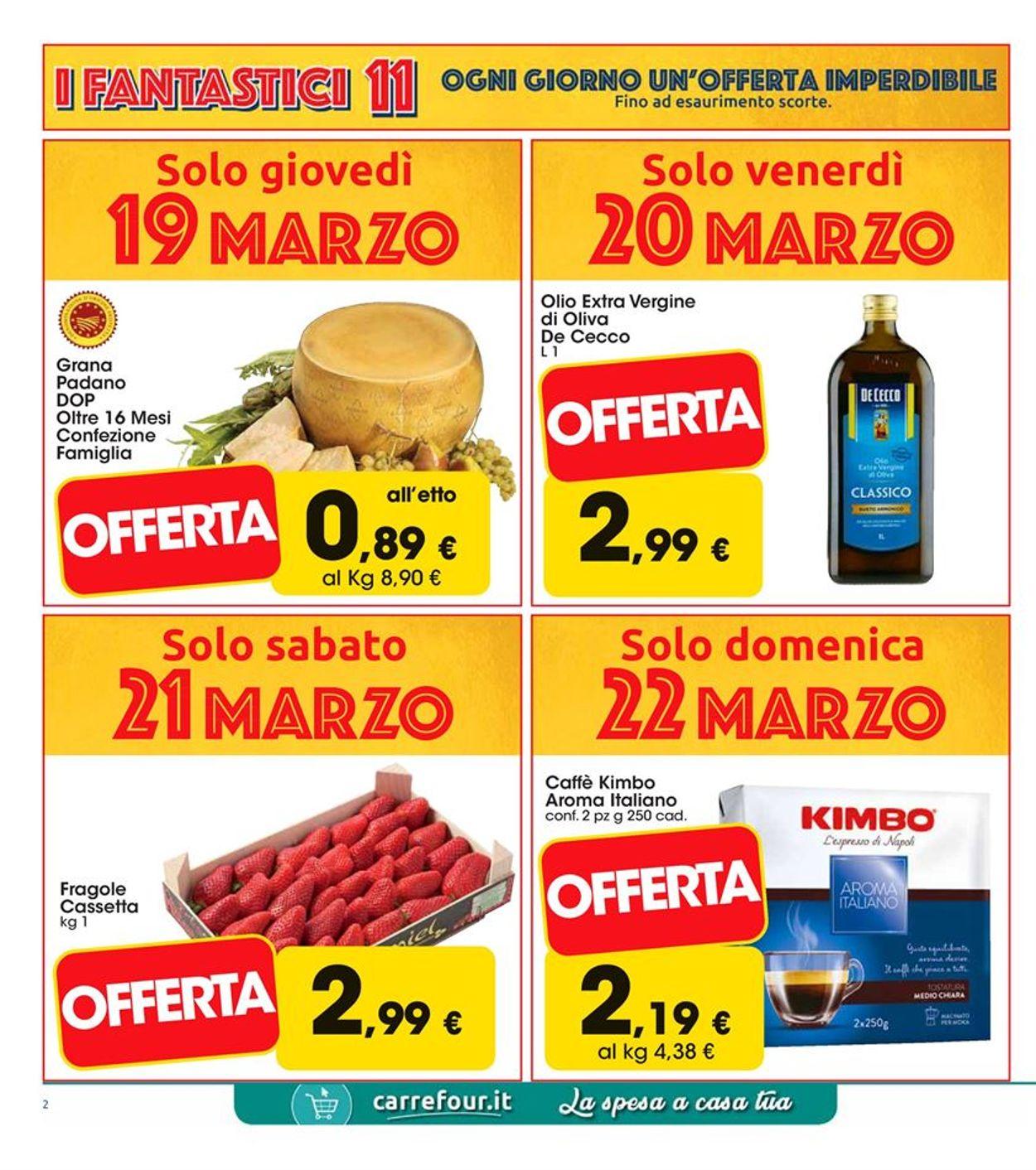 Volantino Carrefour - Offerte 19/03-29/03/2020 (Pagina 2)