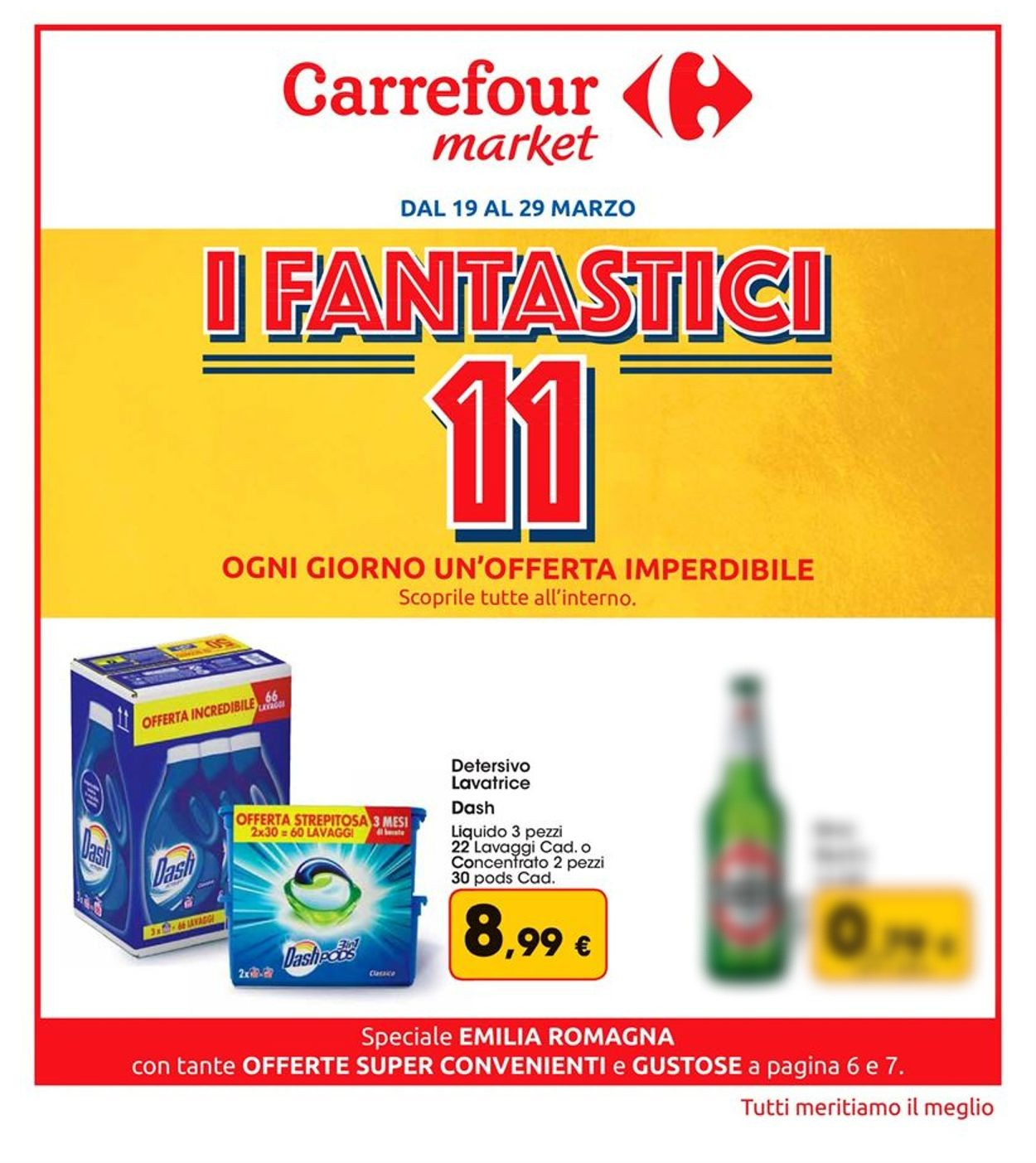 Volantino Carrefour - Offerte 19/03-29/03/2020