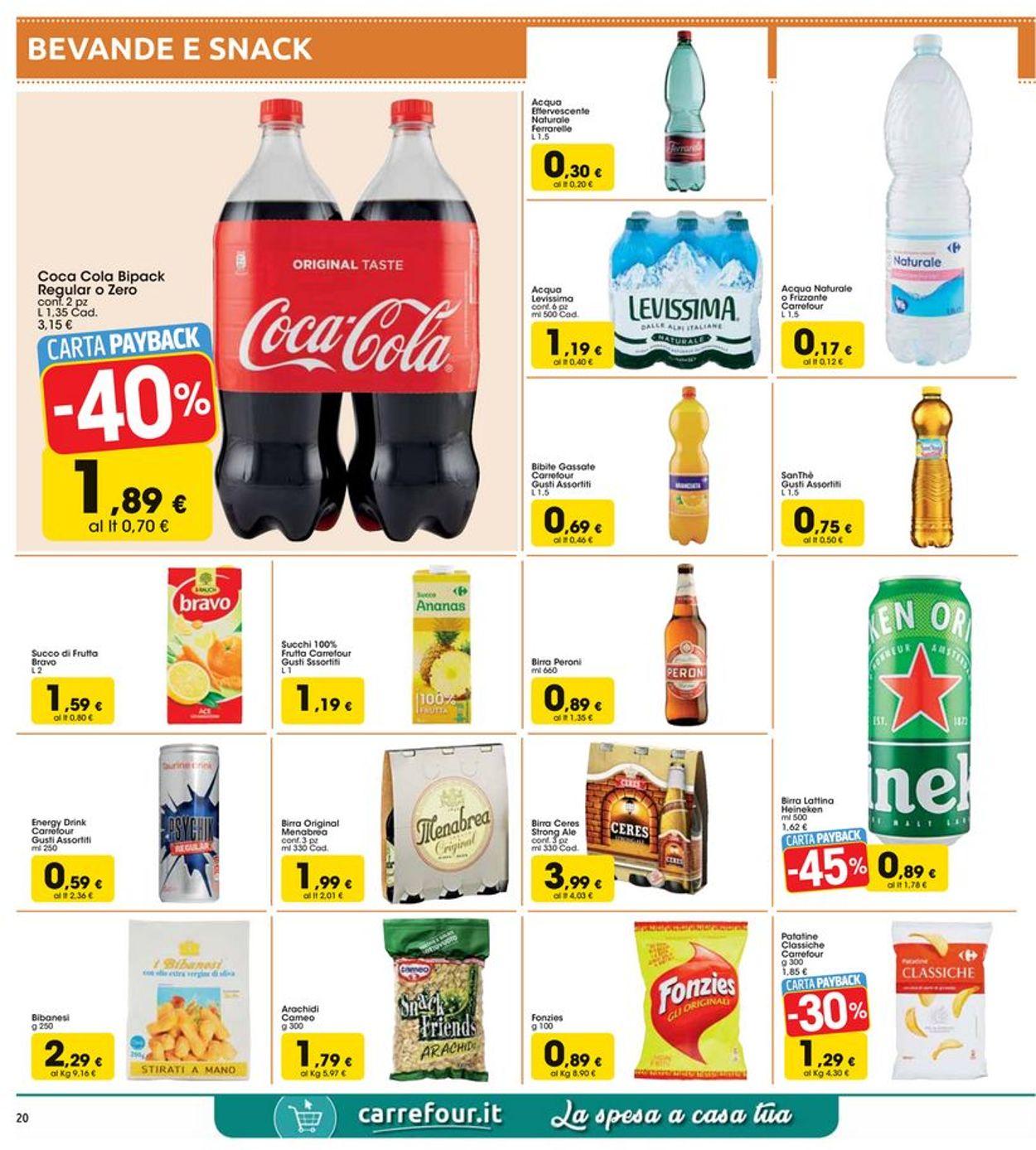Volantino Carrefour - Offerte 30/03-13/04/2020 (Pagina 20)