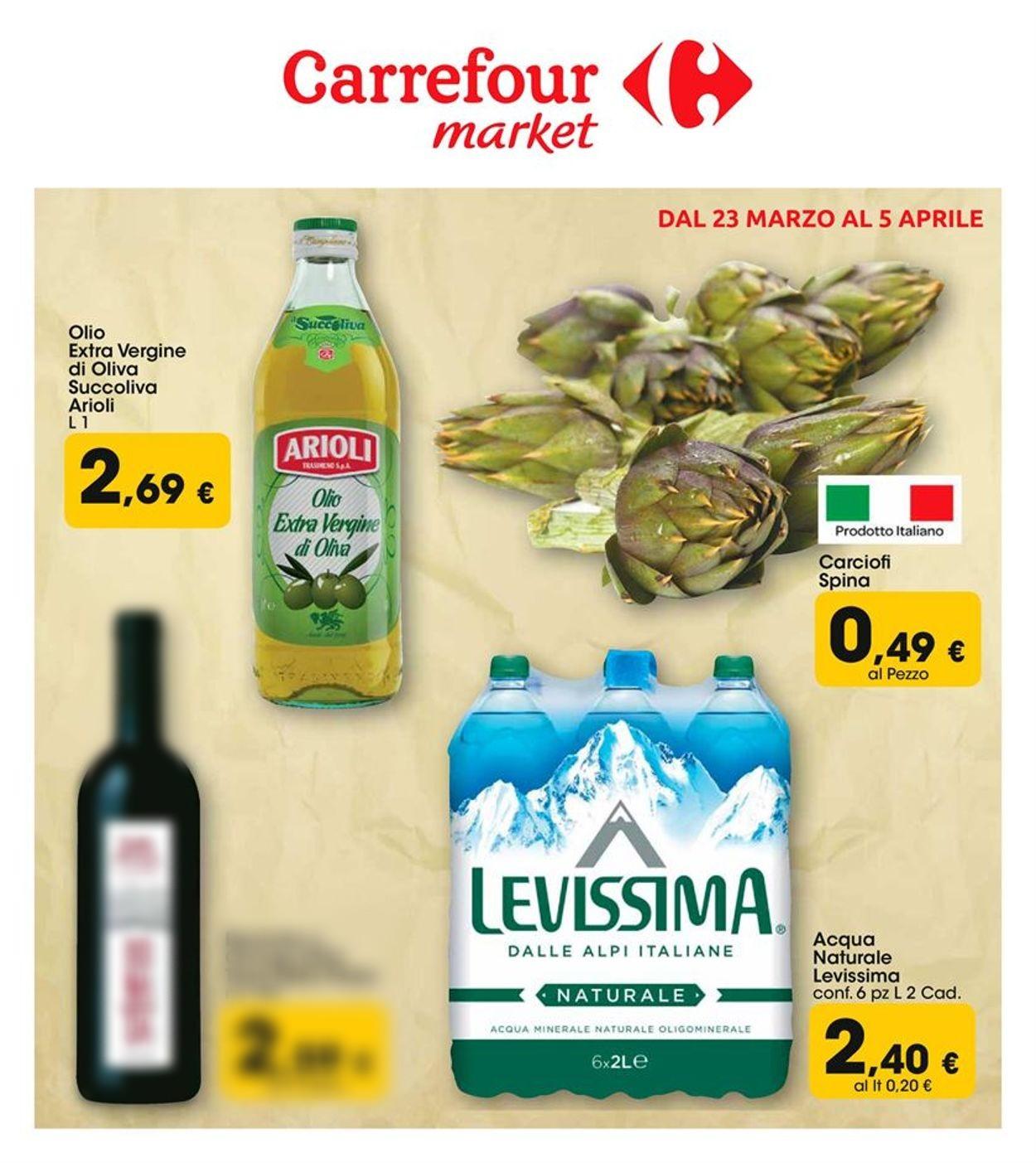 Volantino Carrefour - Offerte 23/03-05/04/2020