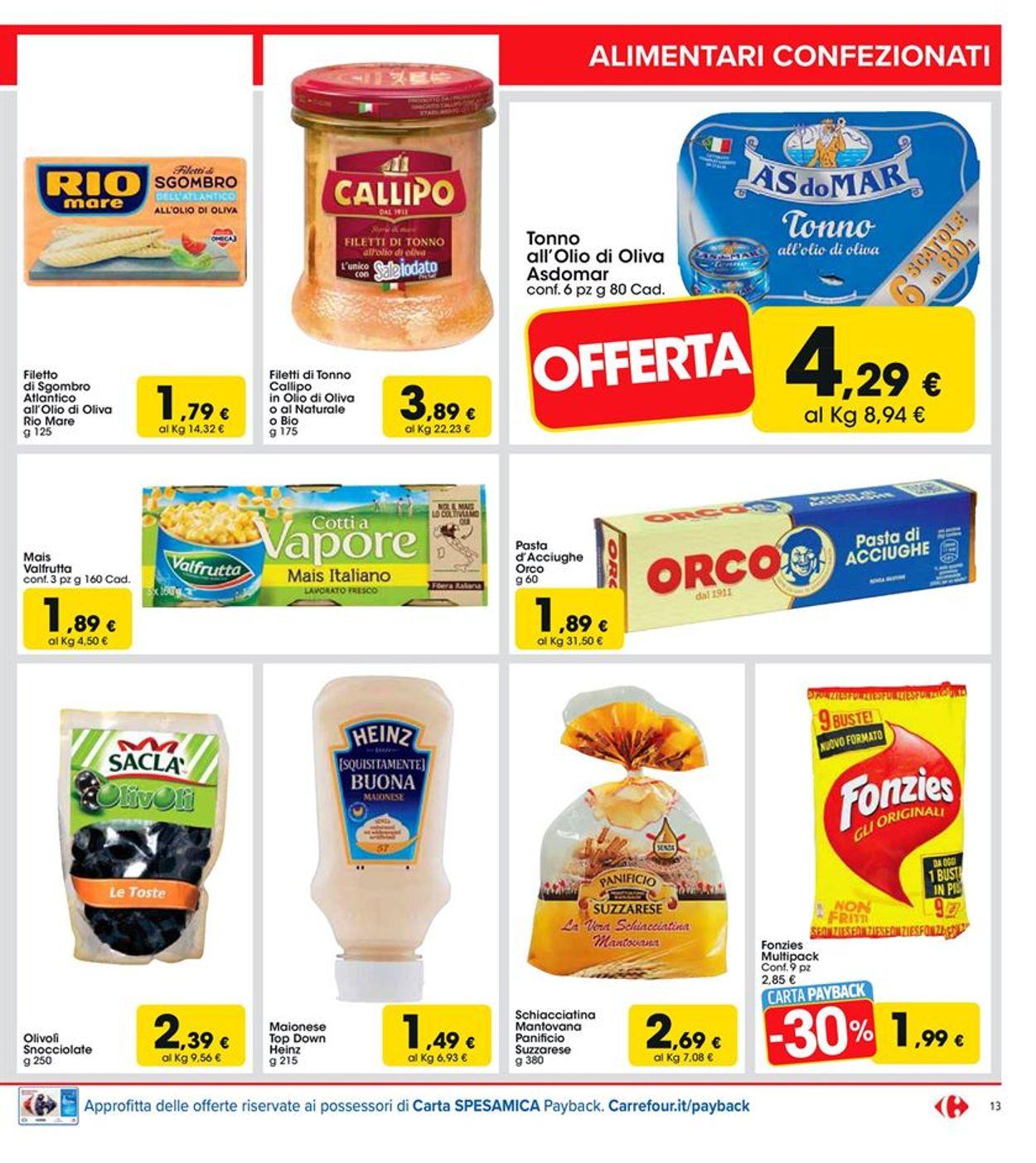 Volantino Carrefour - Offerte 24/04-03/05/2020 (Pagina 13)