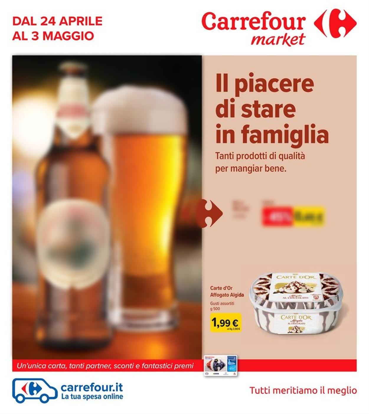 Volantino Carrefour - Offerte 24/04-03/05/2020