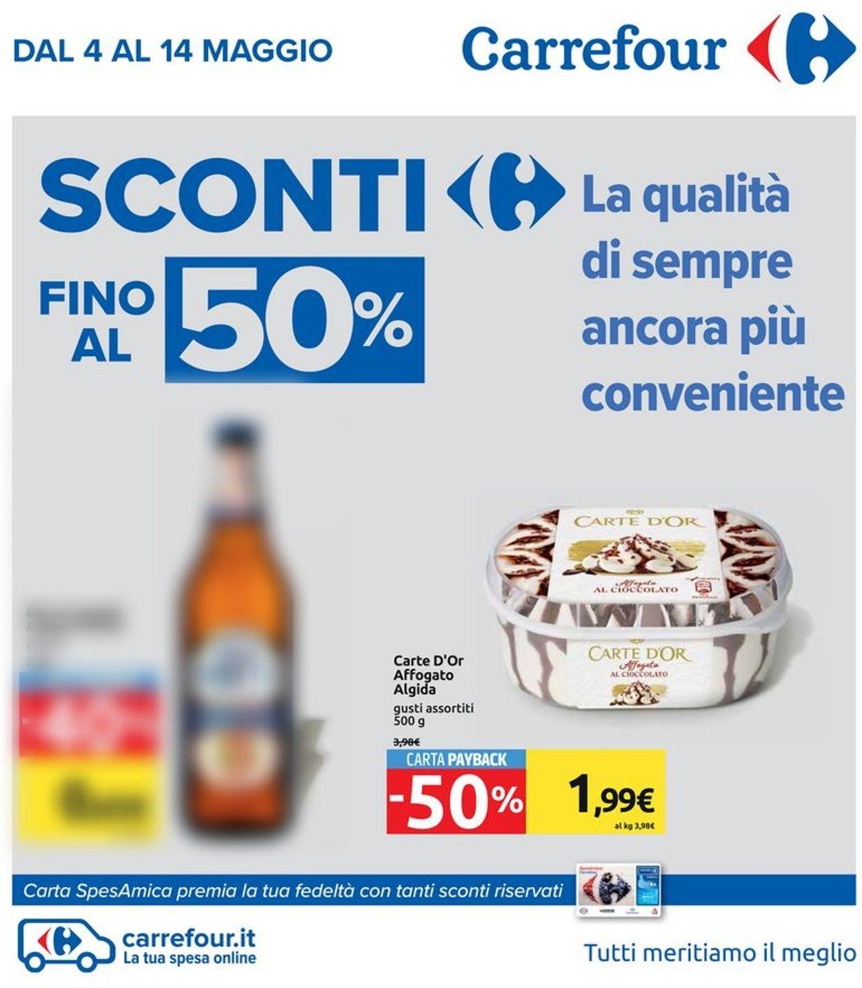 Volantino Carrefour - Offerte 04/05-14/05/2020