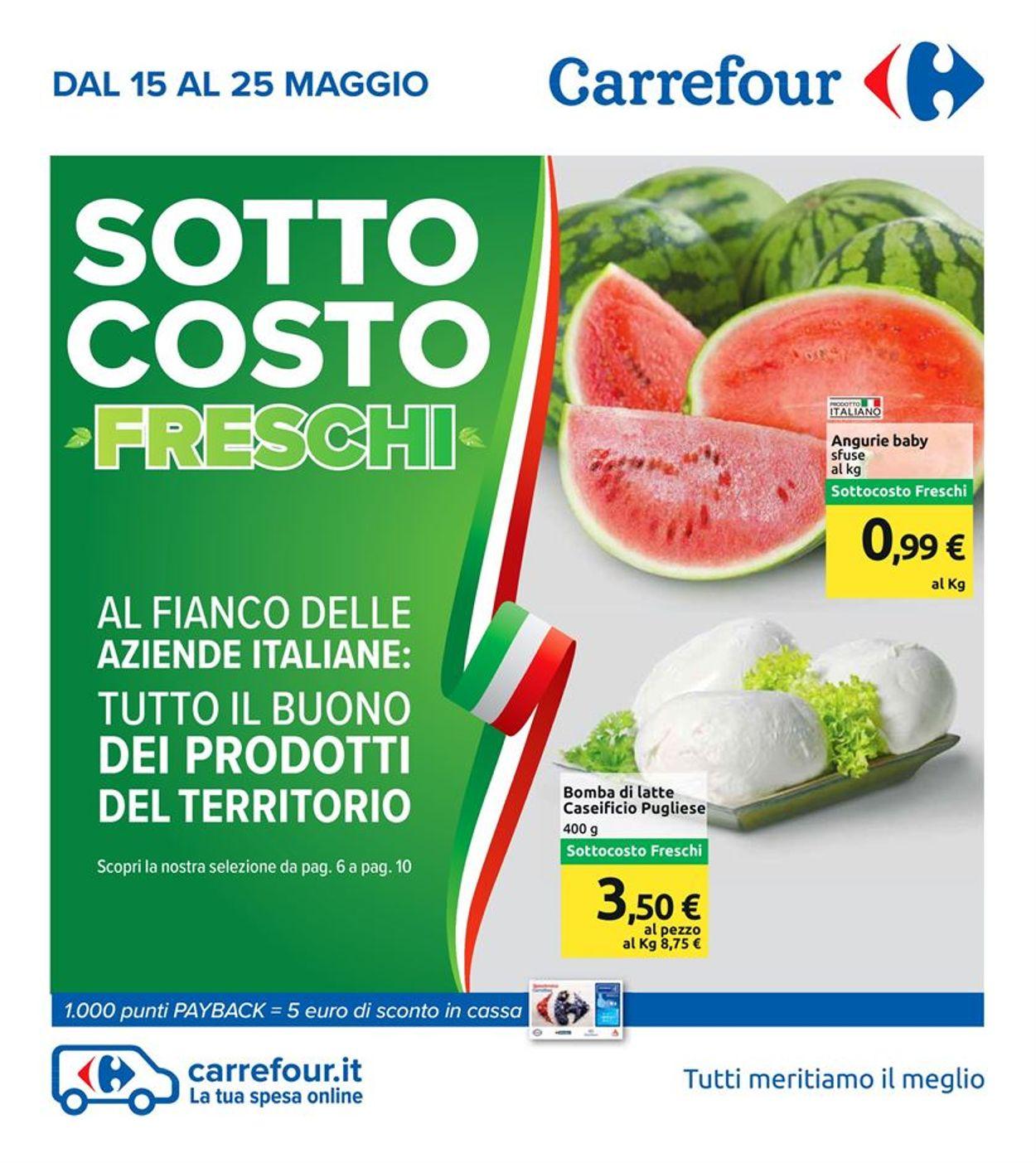 Volantino Carrefour - Offerte 15/05-25/05/2020