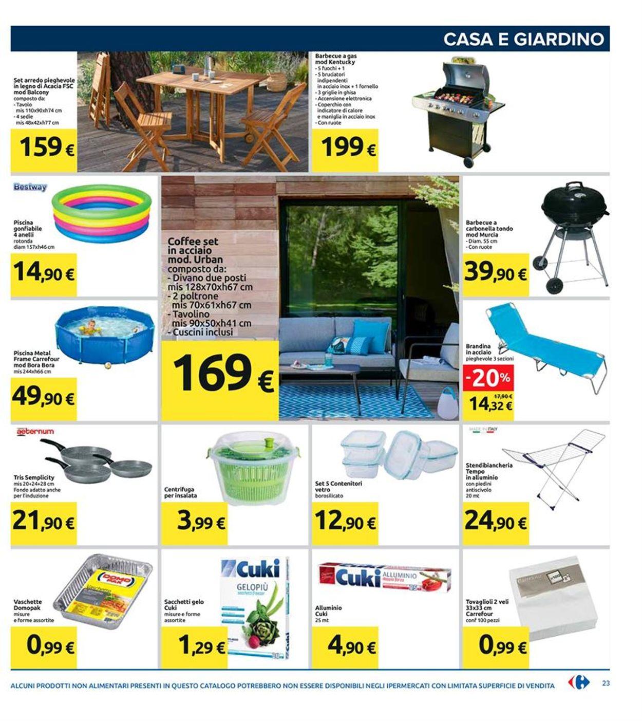 Volantino Carrefour - Offerte 26/05-04/06/2020 (Pagina 23)