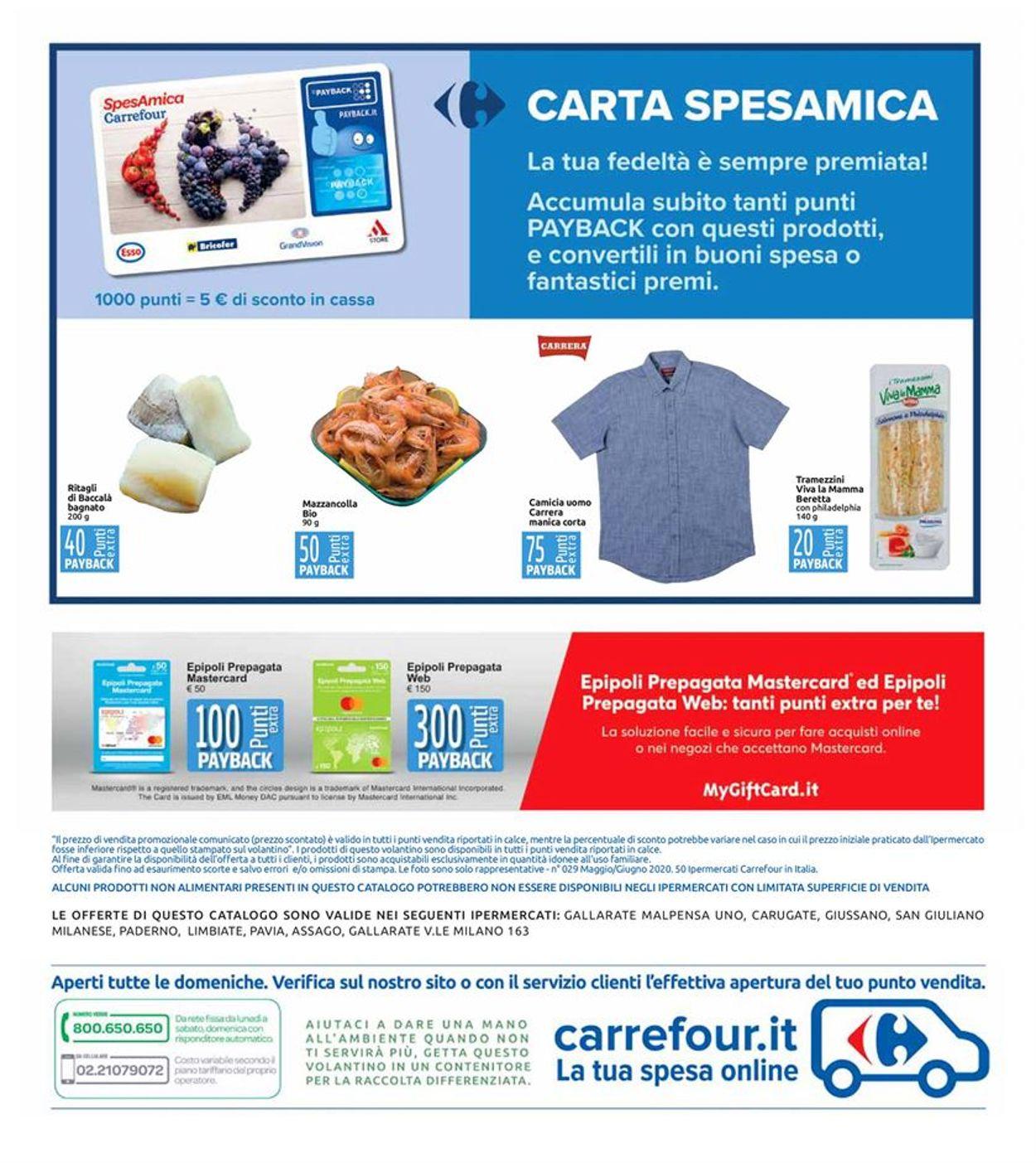 Volantino Carrefour - Offerte 26/05-04/06/2020 (Pagina 26)