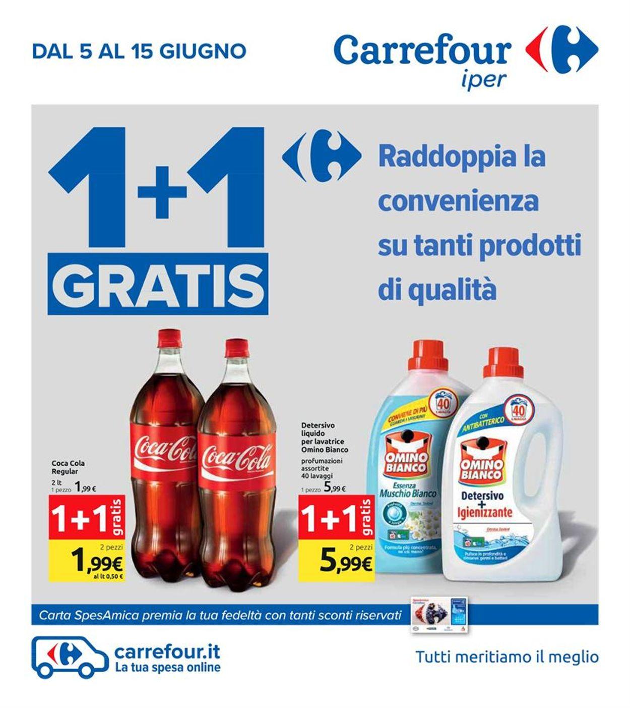 Volantino Carrefour - Offerte 05/06-19/06/2020