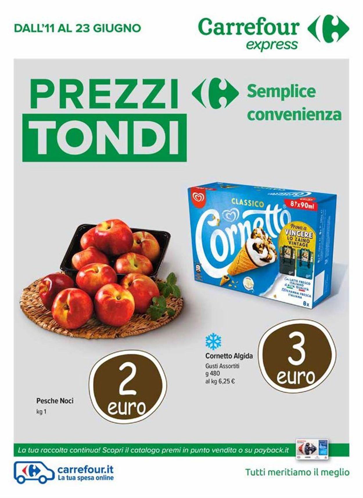 Volantino Carrefour - Offerte 11/06-23/06/2020