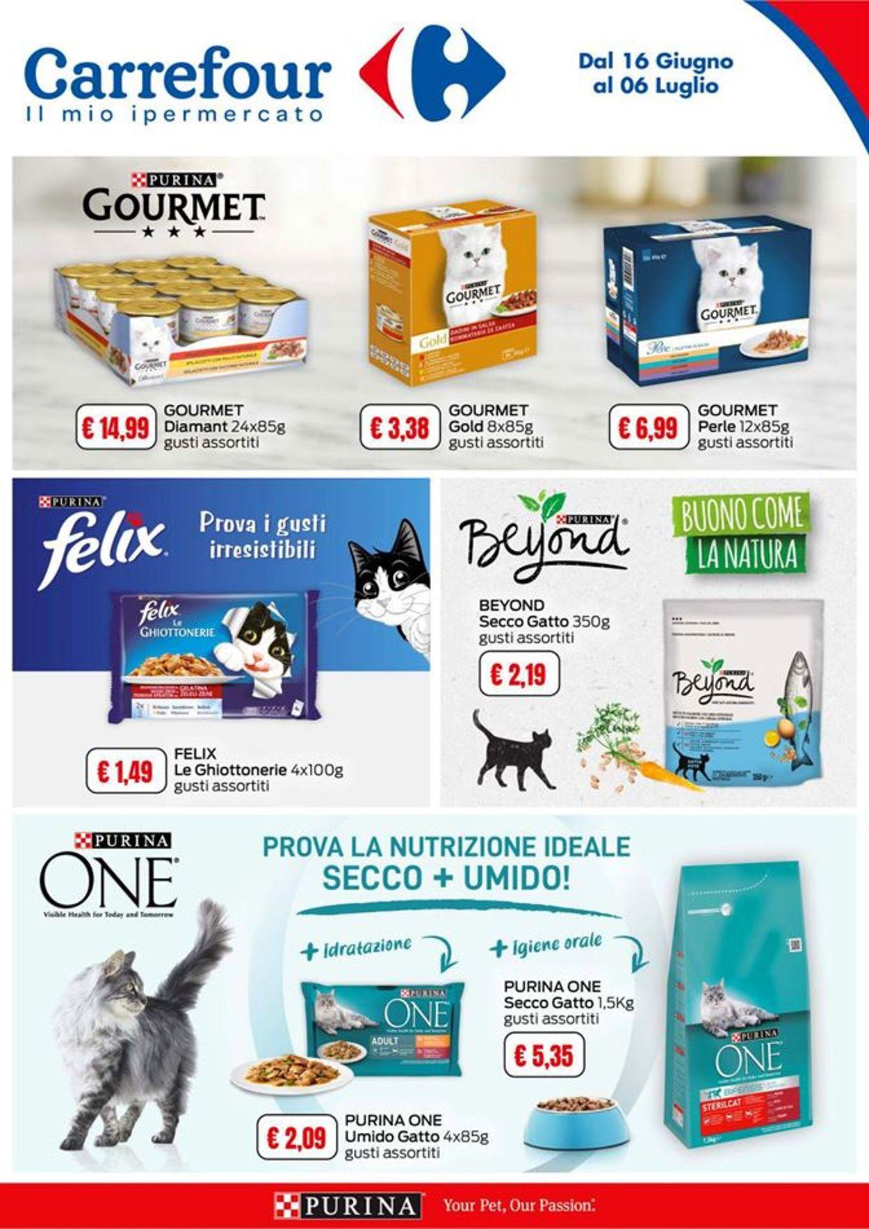 Volantino Carrefour - Offerte 16/06-06/07/2020