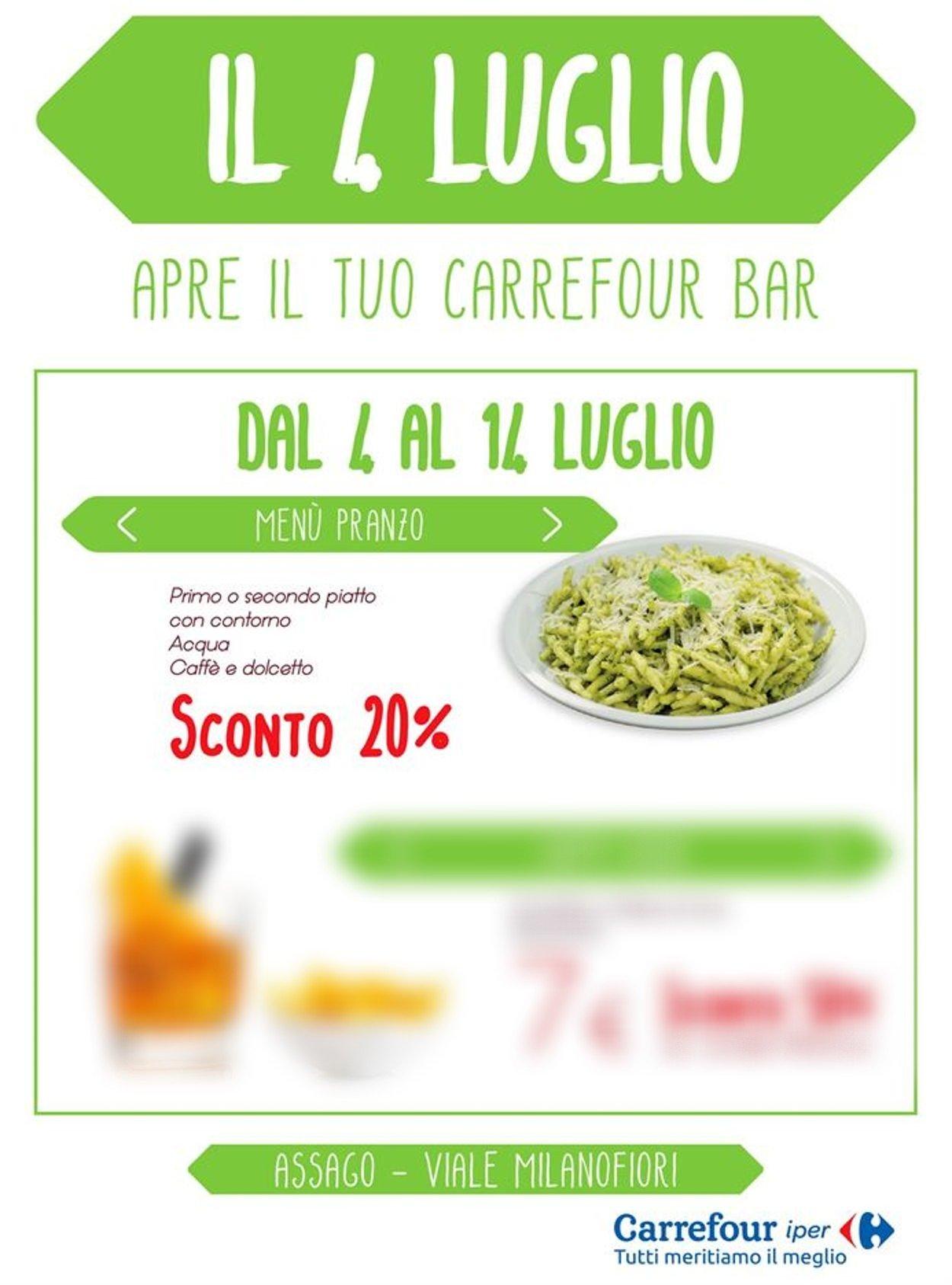 Volantino Carrefour - Offerte 02/07-15/09/2020