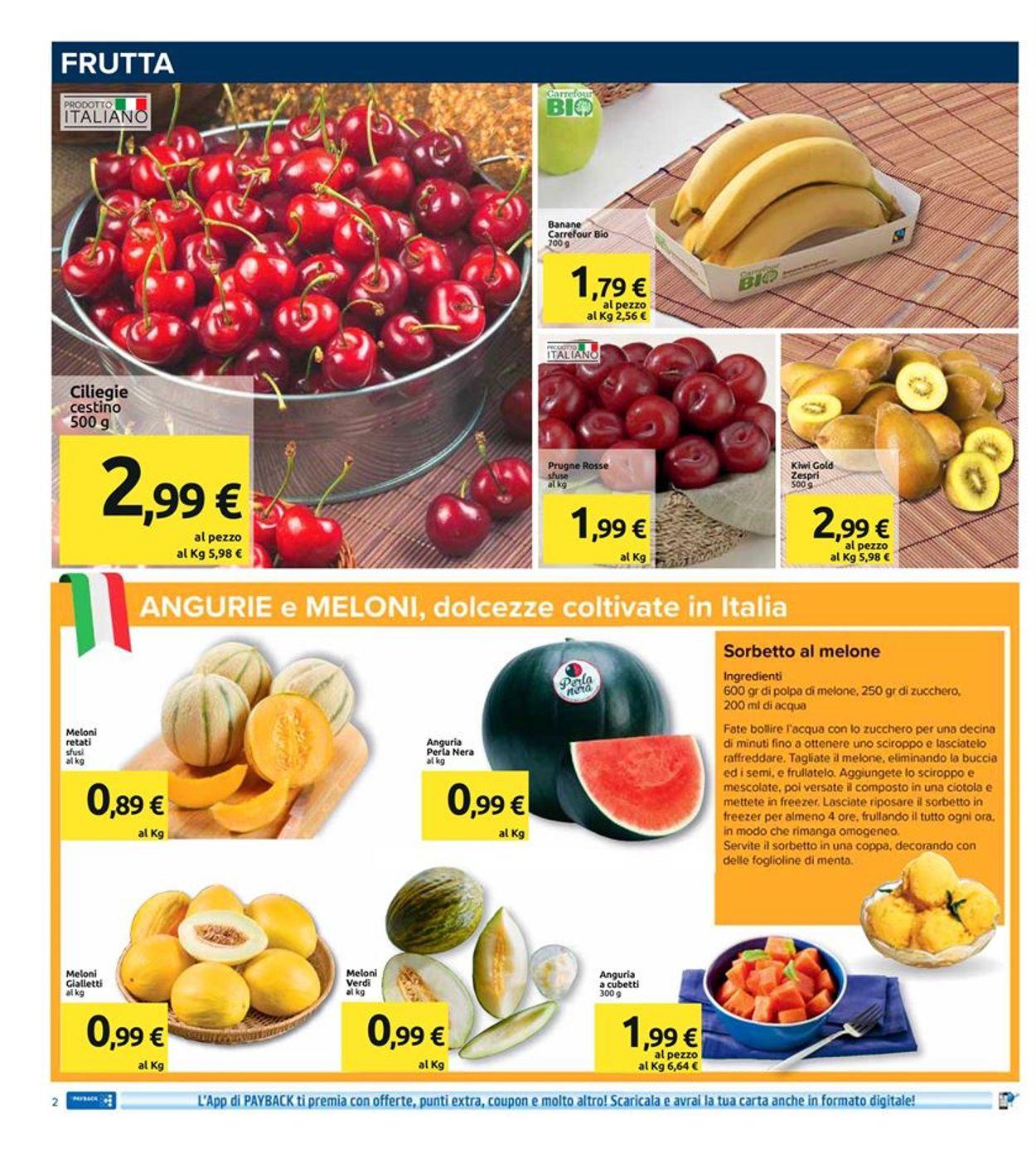 Volantino Carrefour - Offerte 07/07-16/07/2020 (Pagina 2)