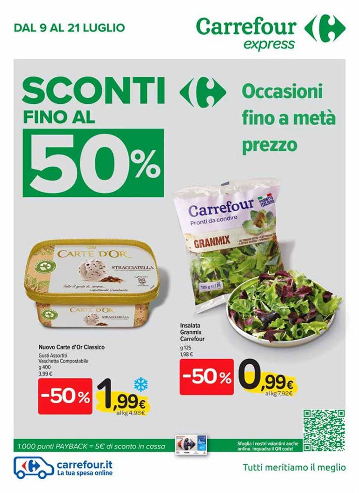 Volantino Carrefour - Offerte 09/07-21/07/2020