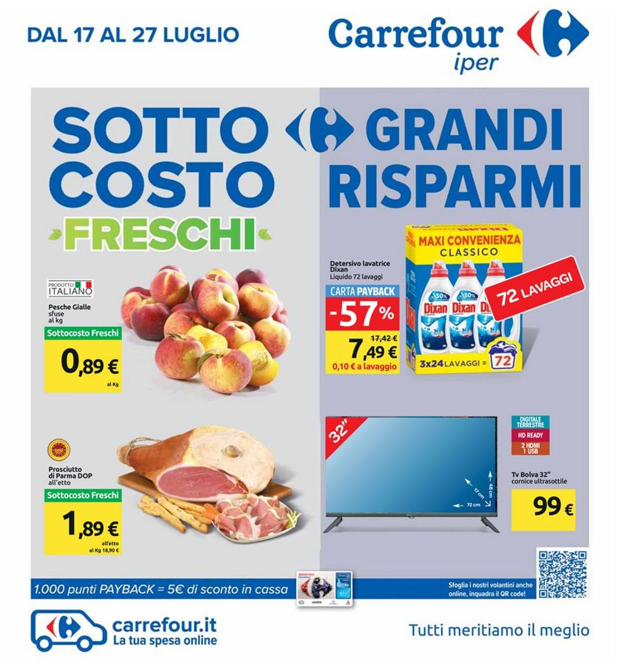 Volantino Carrefour - Offerte 17/07-27/07/2020