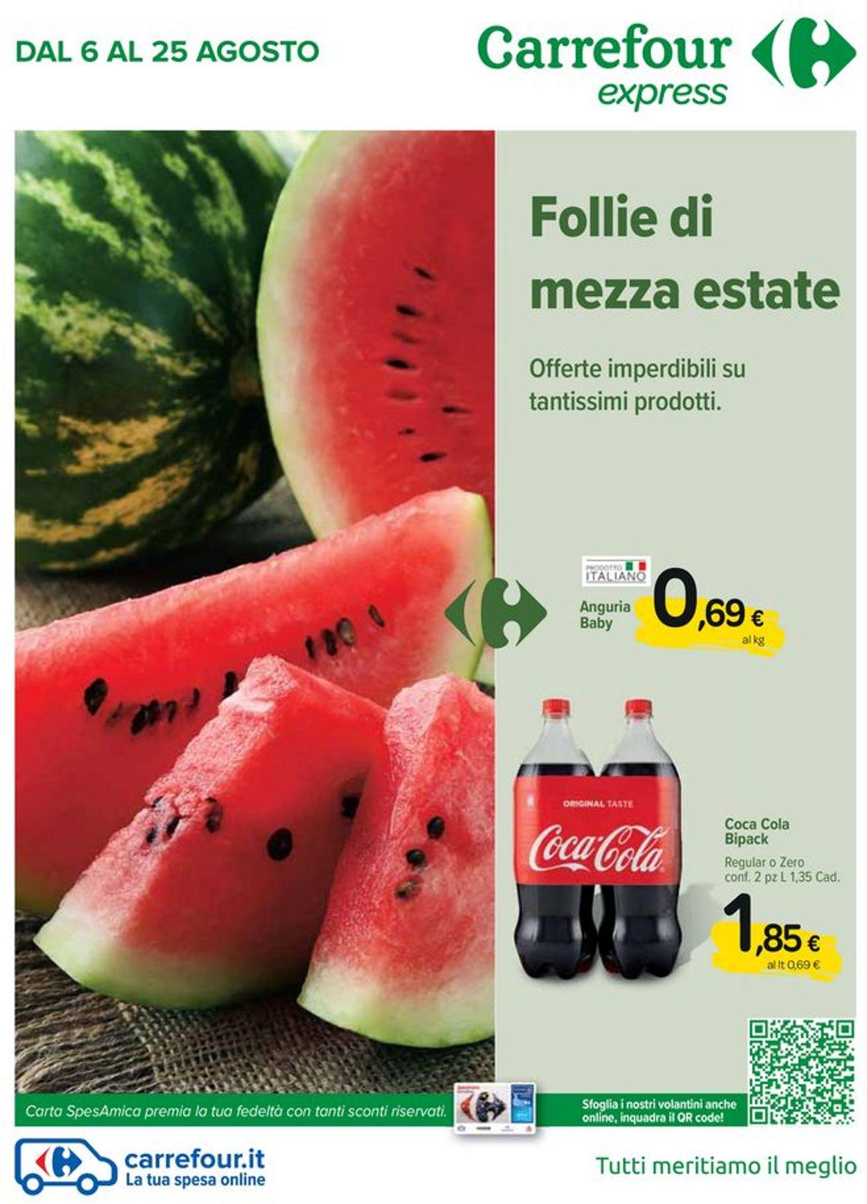 Volantino Carrefour - Offerte 06/08-25/08/2020
