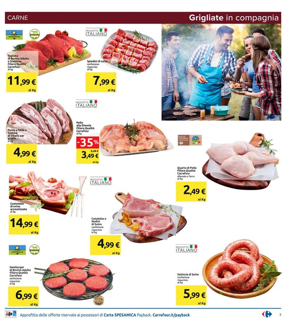 Volantino Carrefour - Offerte 07/08-18/08/2020 (Pagina 3)