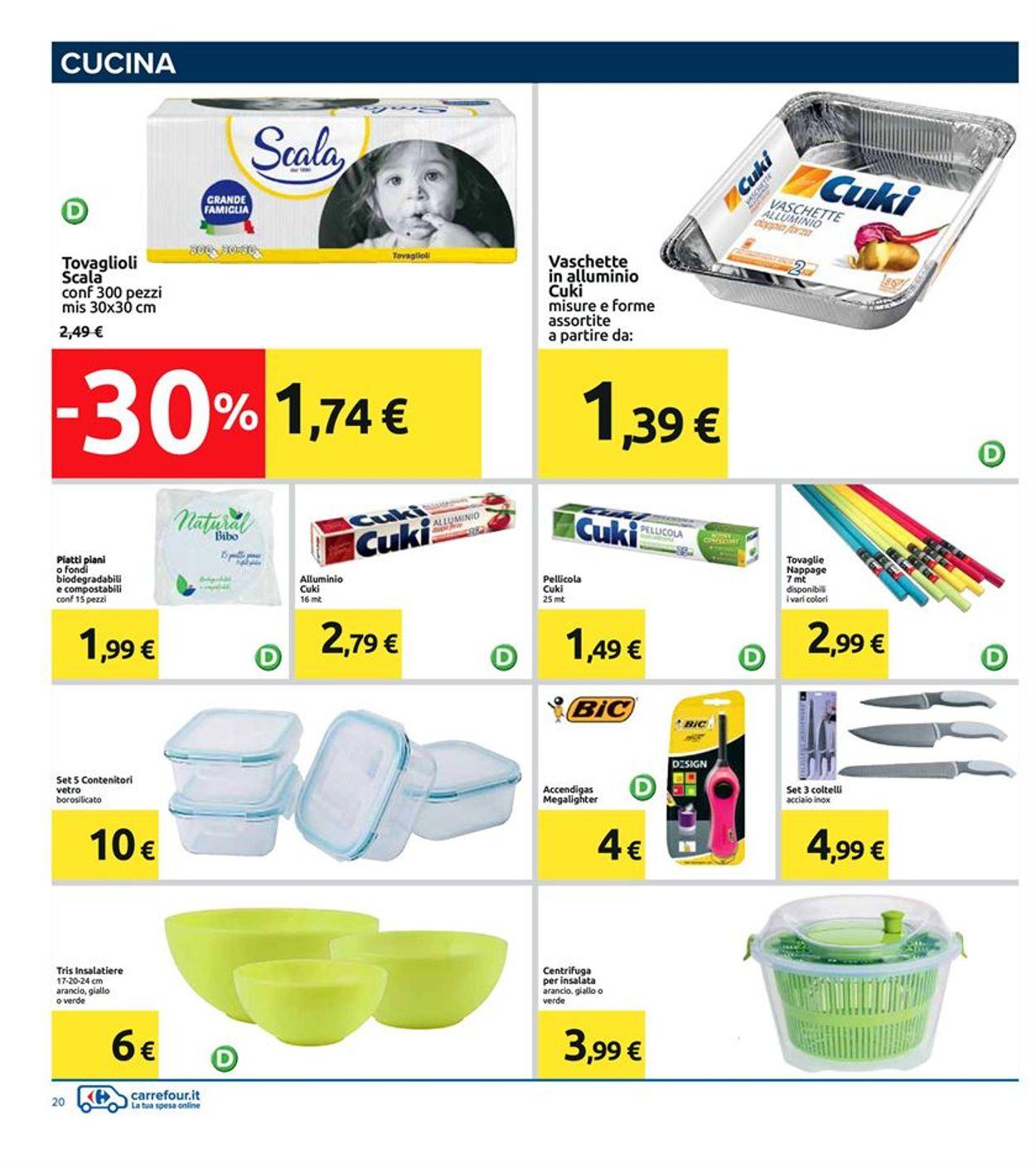 Volantino Carrefour - Offerte 07/08-18/08/2020 (Pagina 22)
