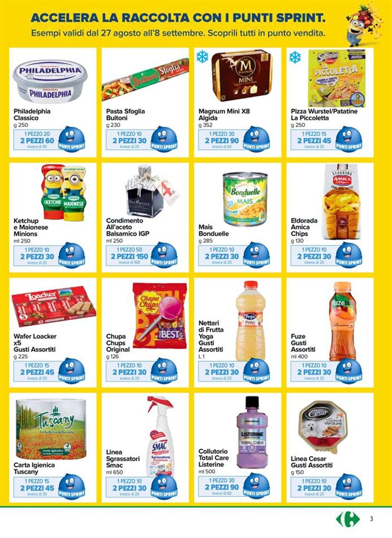 Volantino Carrefour - Offerte 27/08-08/09/2020 (Pagina 3)