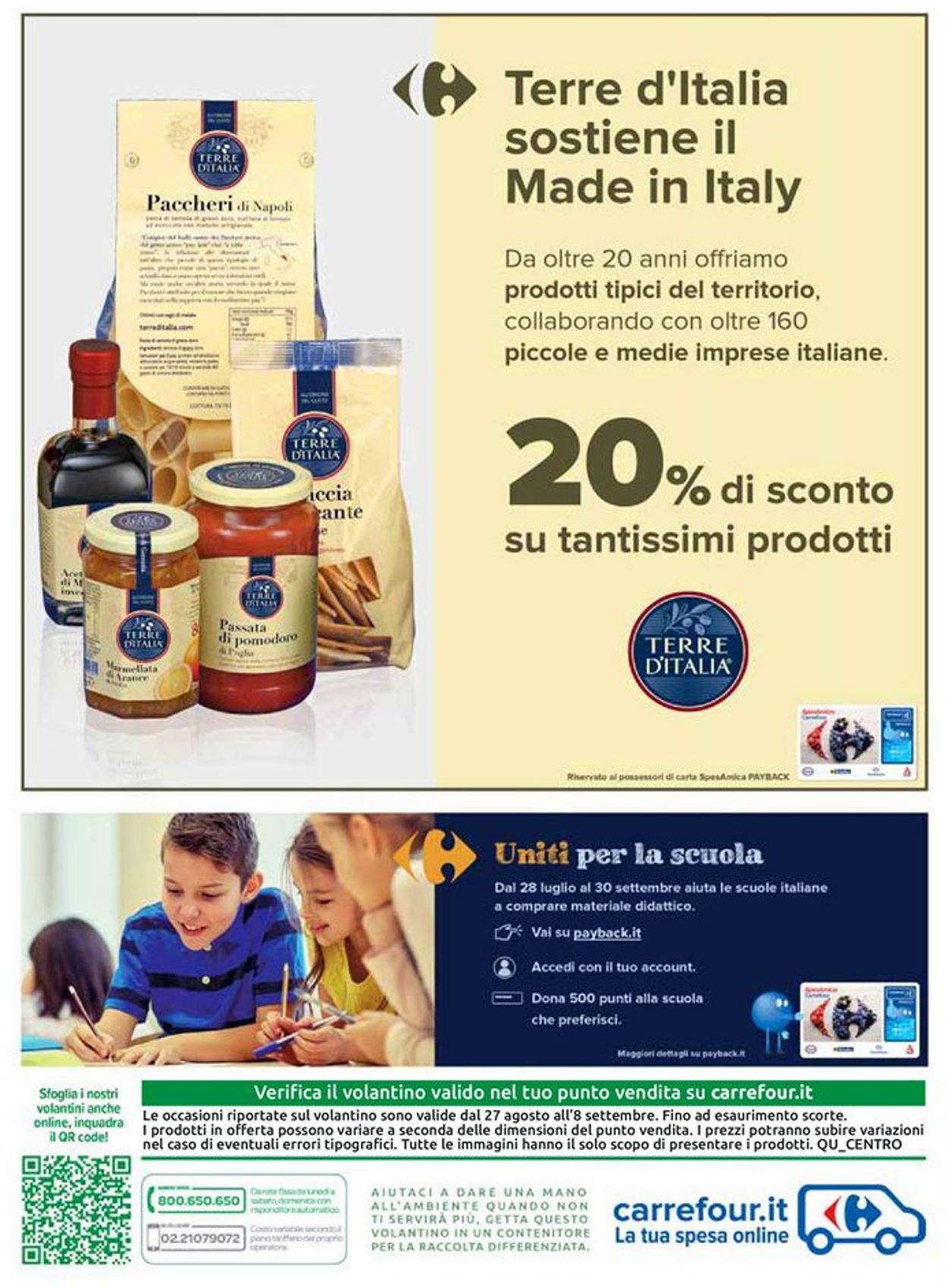 Volantino Carrefour - Offerte 27/08-08/09/2020 (Pagina 10)