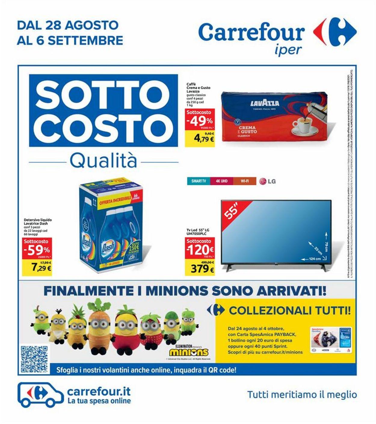 Volantino Carrefour - Offerte 28/08-06/09/2020