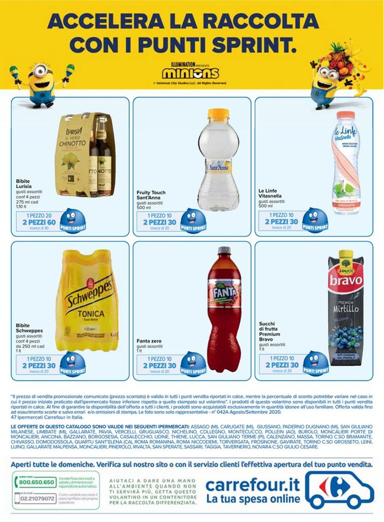 Volantino Carrefour - Offerte 28/08-17/09/2020 (Pagina 24)