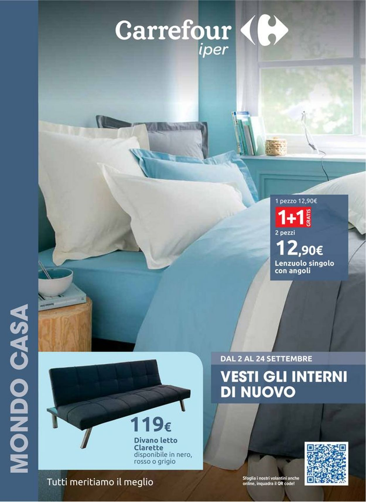 Volantino Carrefour - Offerte 02/09-24/09/2020