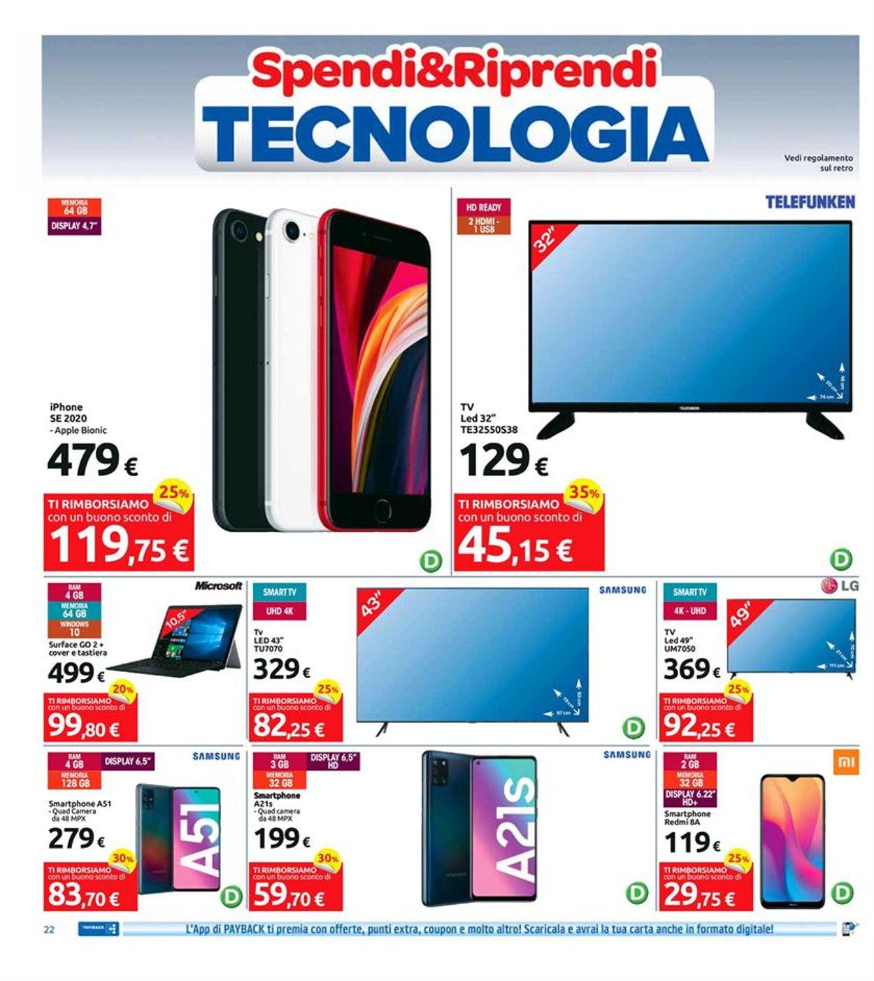 Volantino Carrefour - Offerte 07/09-17/09/2020 (Pagina 22)