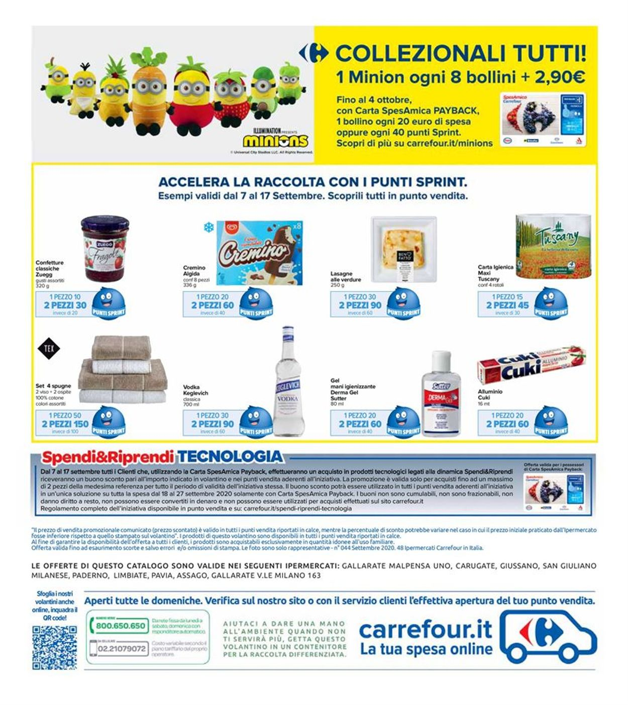 Volantino Carrefour - Offerte 07/09-17/09/2020 (Pagina 24)