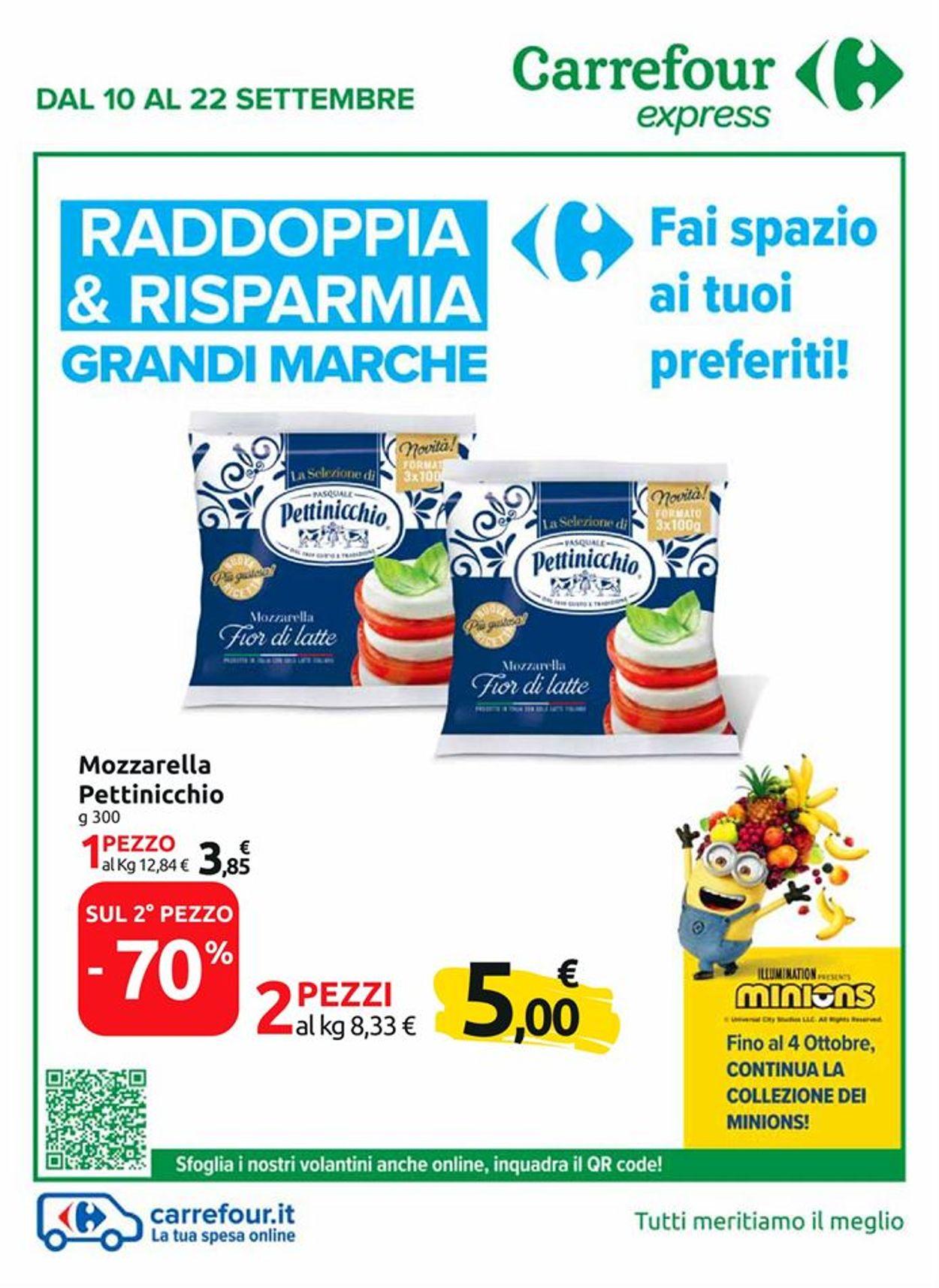 Volantino Carrefour - Offerte 10/09-22/09/2020