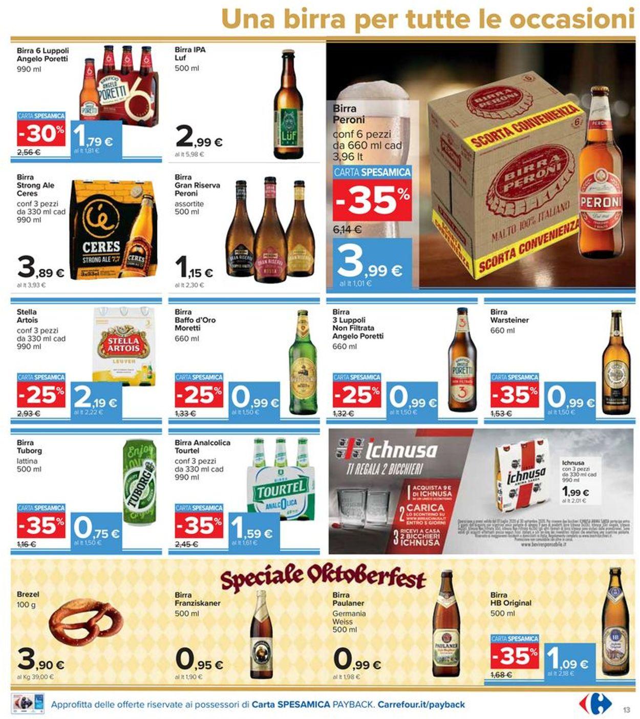 Volantino Carrefour - Offerte 18/09-28/09/2020 (Pagina 13)