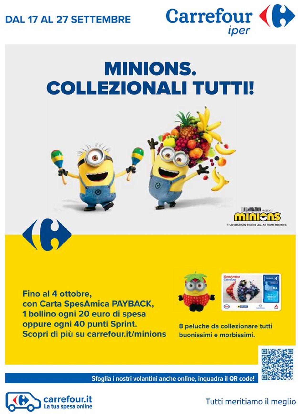 Volantino Carrefour - Offerte 17/09-27/09/2020