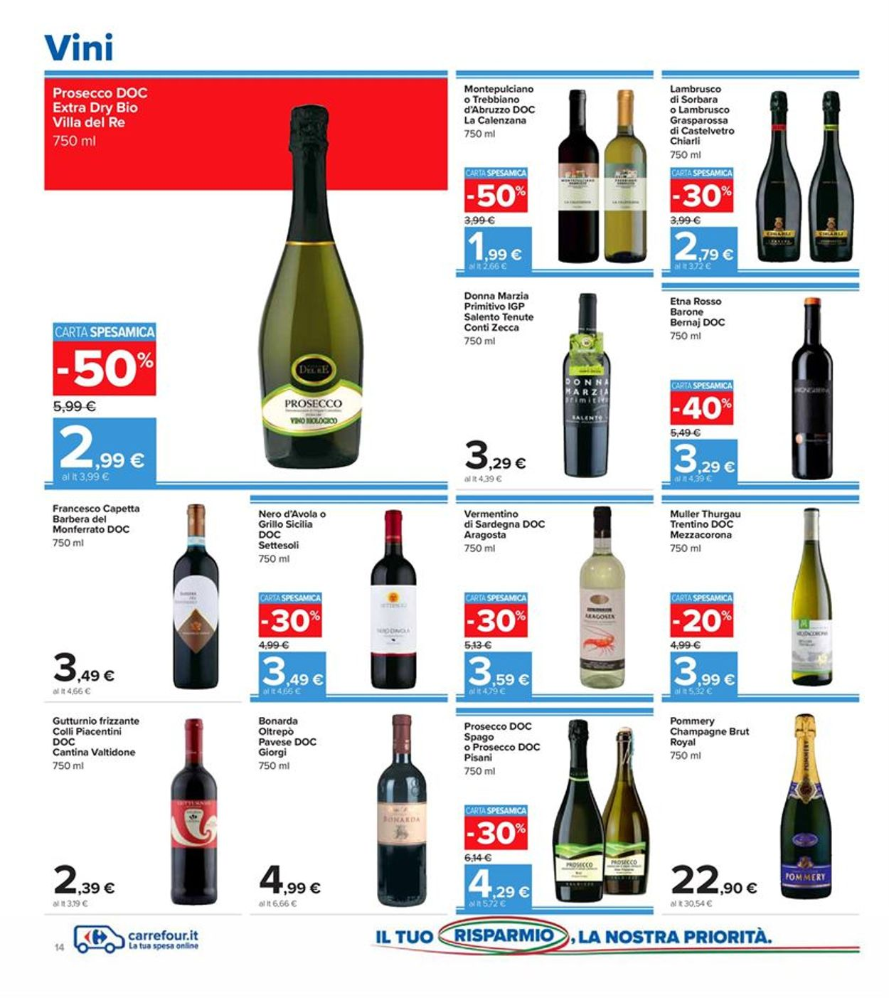 Volantino Carrefour - Offerte 29/09-08/10/2020 (Pagina 14)