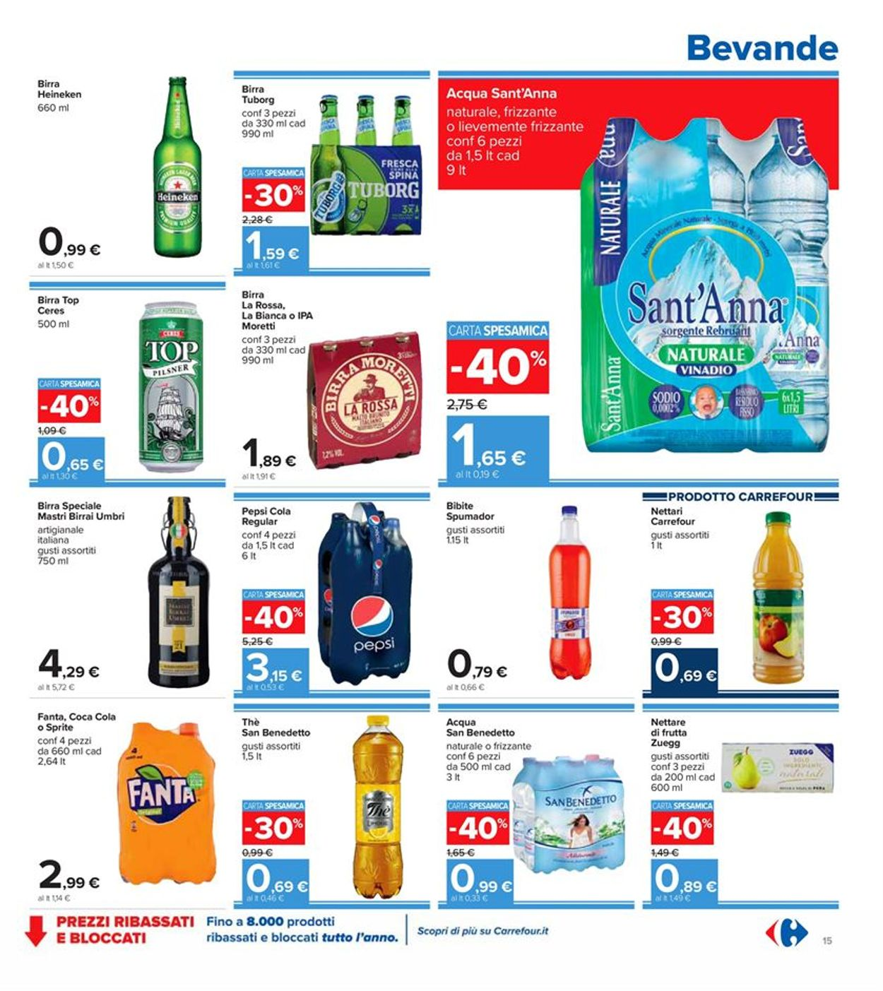 Volantino Carrefour - Offerte 29/09-08/10/2020 (Pagina 15)