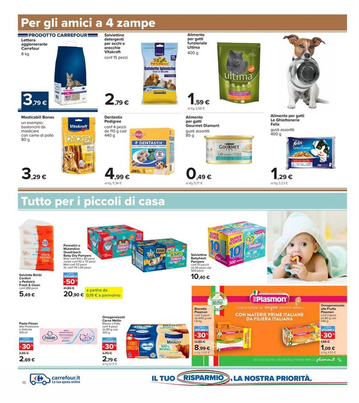 Volantino Carrefour - Offerte 29/09-08/10/2020 (Pagina 16)