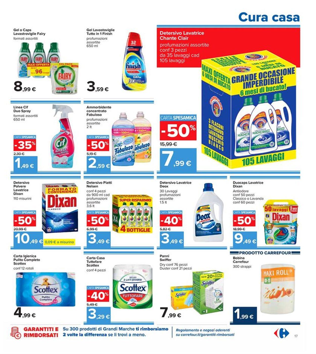 Volantino Carrefour - Offerte 29/09-08/10/2020 (Pagina 17)