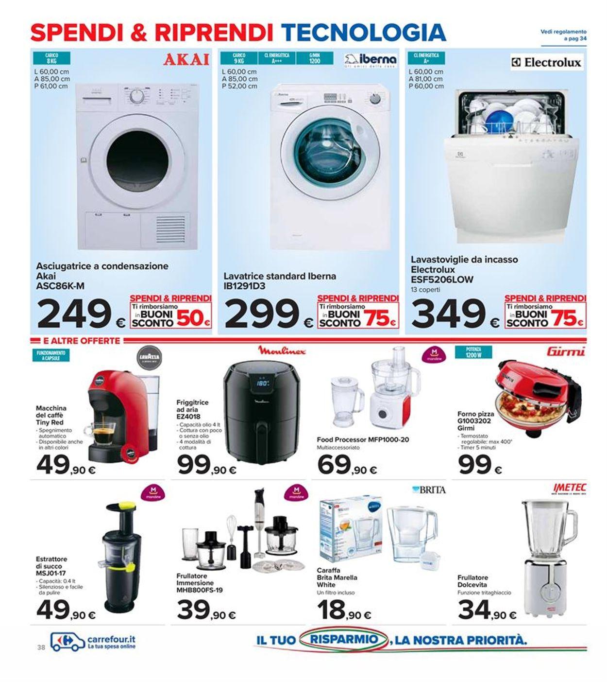 Volantino Carrefour - Offerte 29/09-08/10/2020 (Pagina 38)