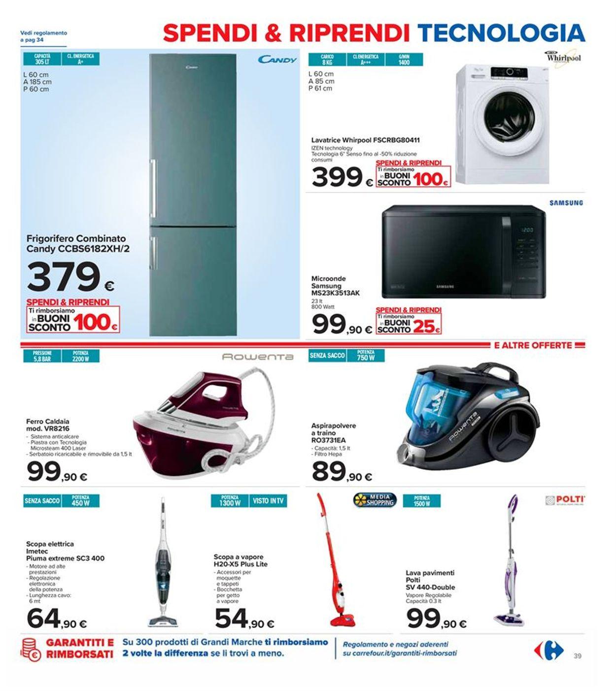 Volantino Carrefour - Offerte 29/09-08/10/2020 (Pagina 39)