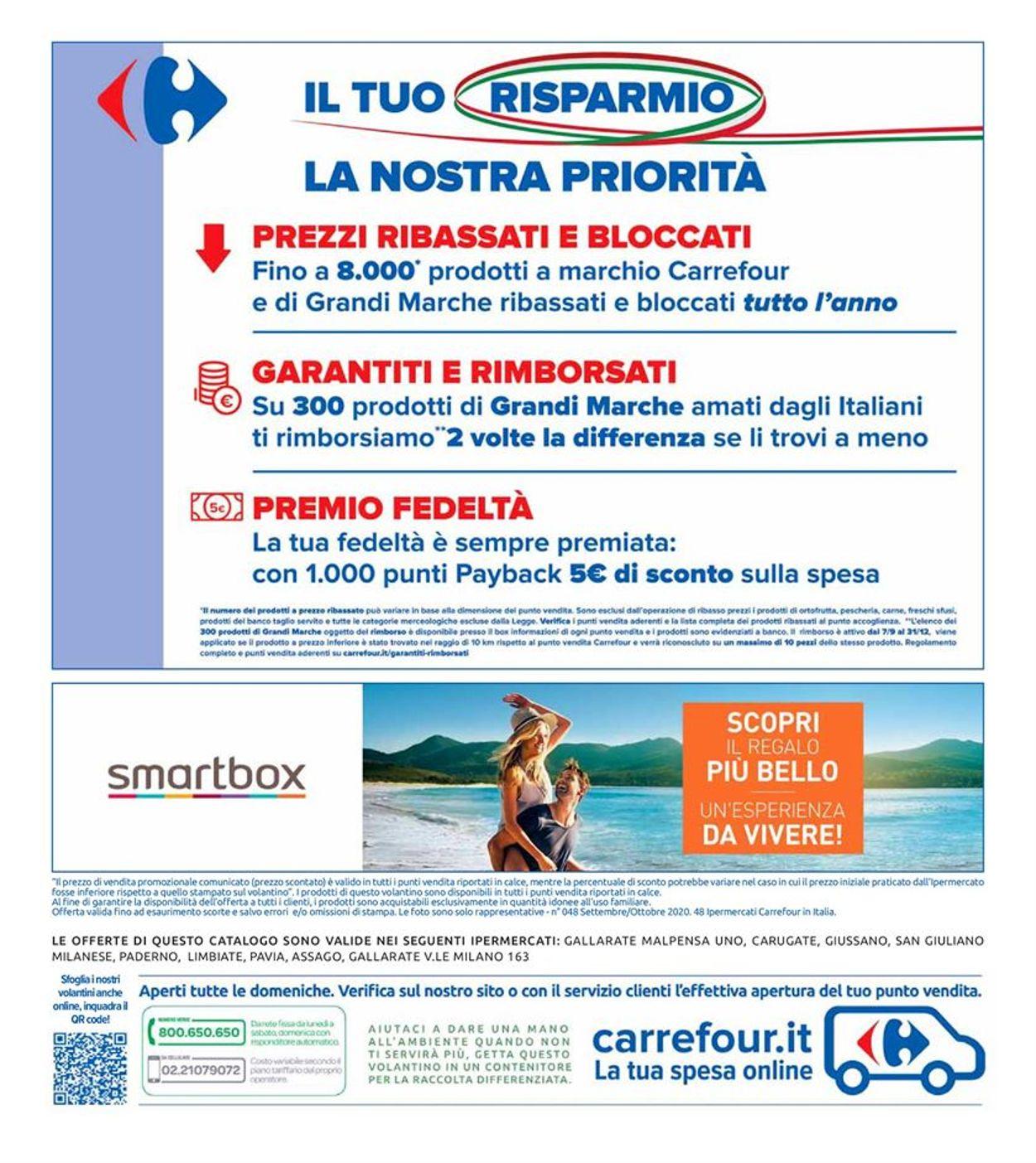 Volantino Carrefour - Offerte 29/09-08/10/2020 (Pagina 40)
