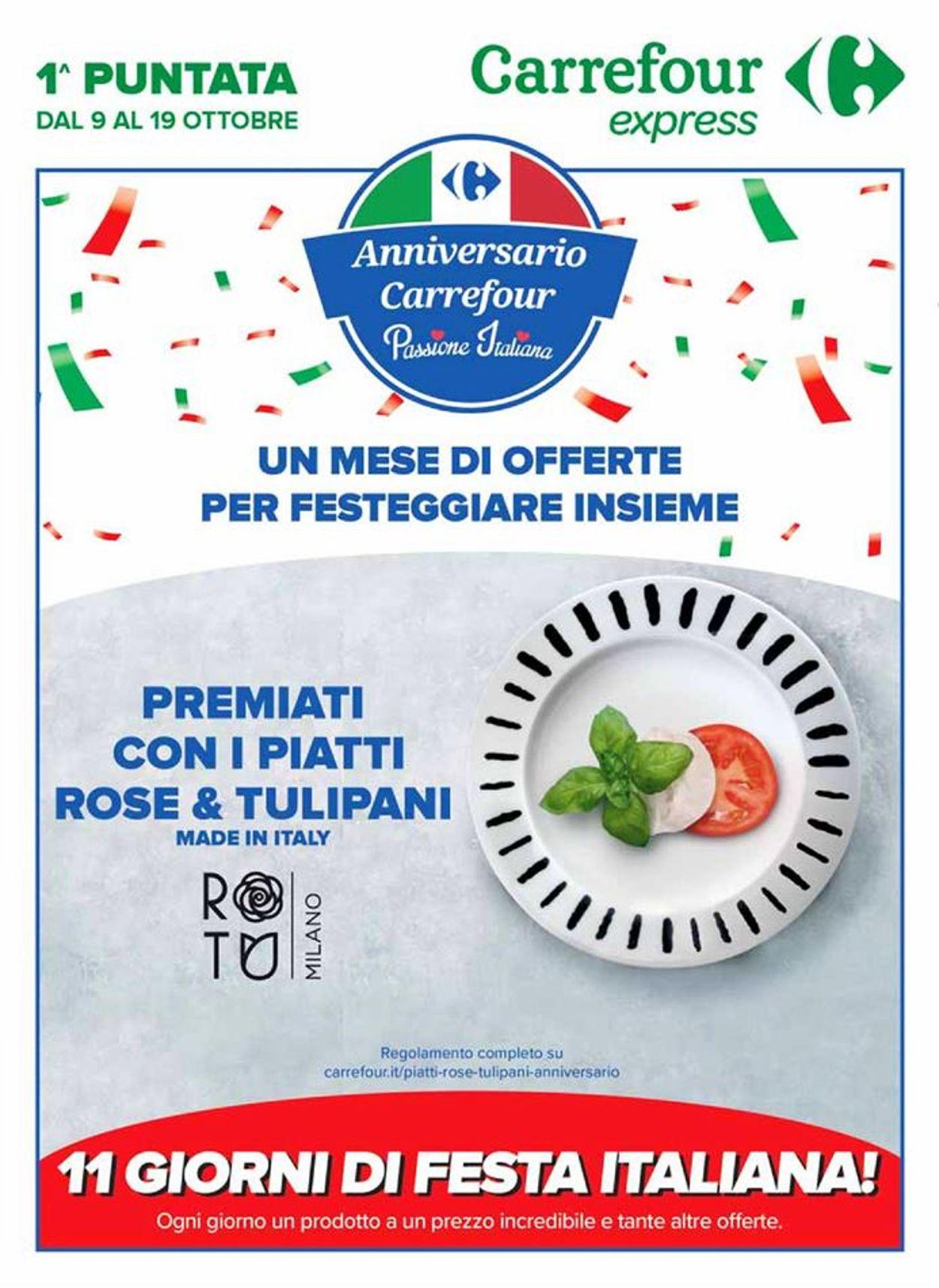 Volantino Carrefour - Offerte 09/10-19/10/2020