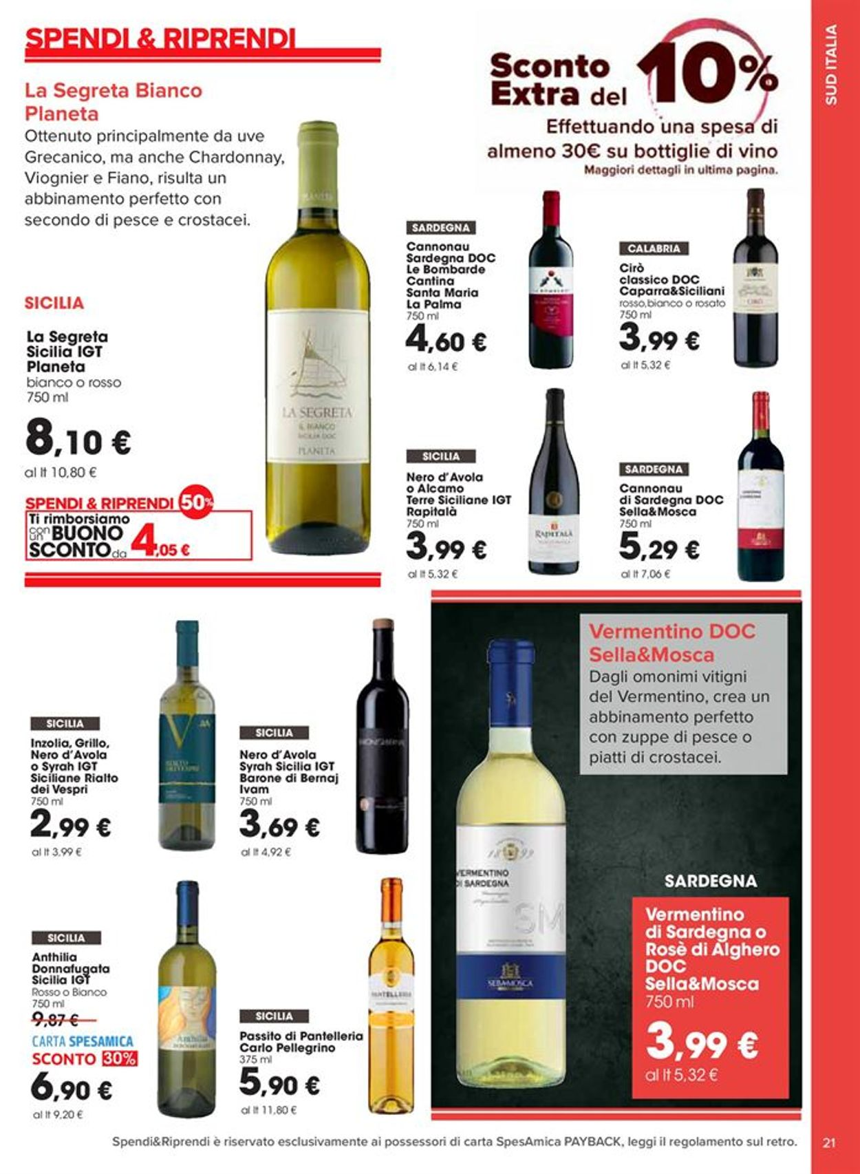Volantino Carrefour - Offerte 09/10-08/11/2020 (Pagina 21)