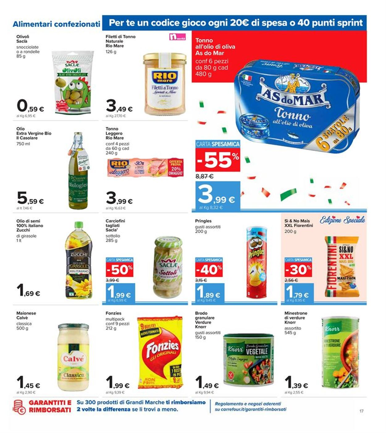 Volantino Carrefour - Offerte 09/10-19/10/2020 (Pagina 17)