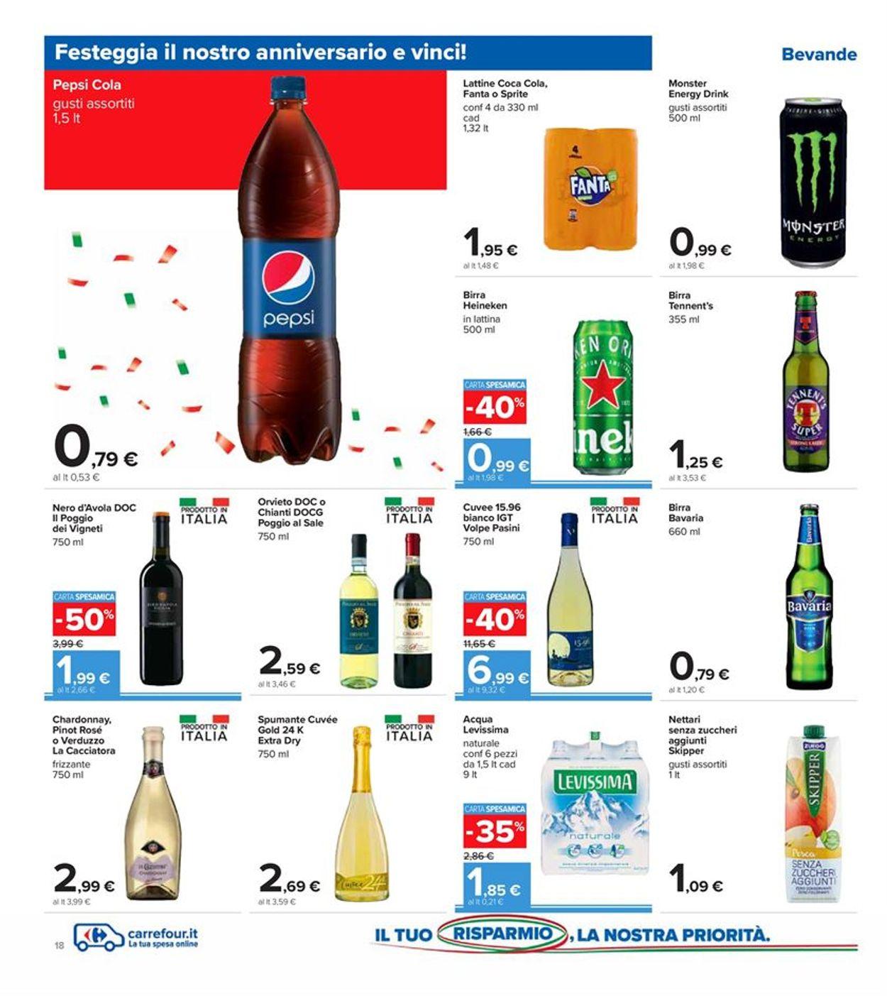 Volantino Carrefour - Offerte 09/10-19/10/2020 (Pagina 18)