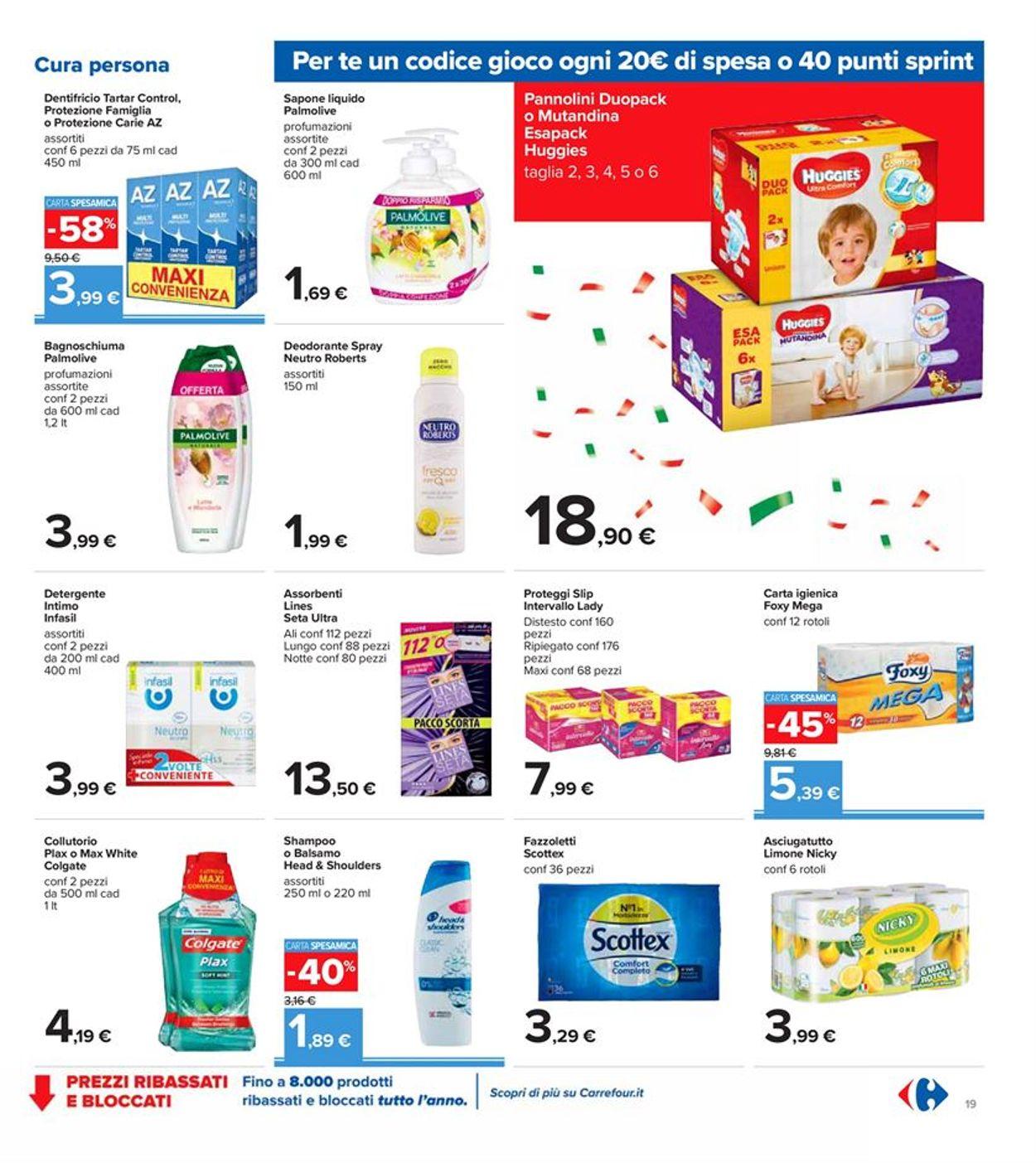 Volantino Carrefour - Offerte 09/10-19/10/2020 (Pagina 19)