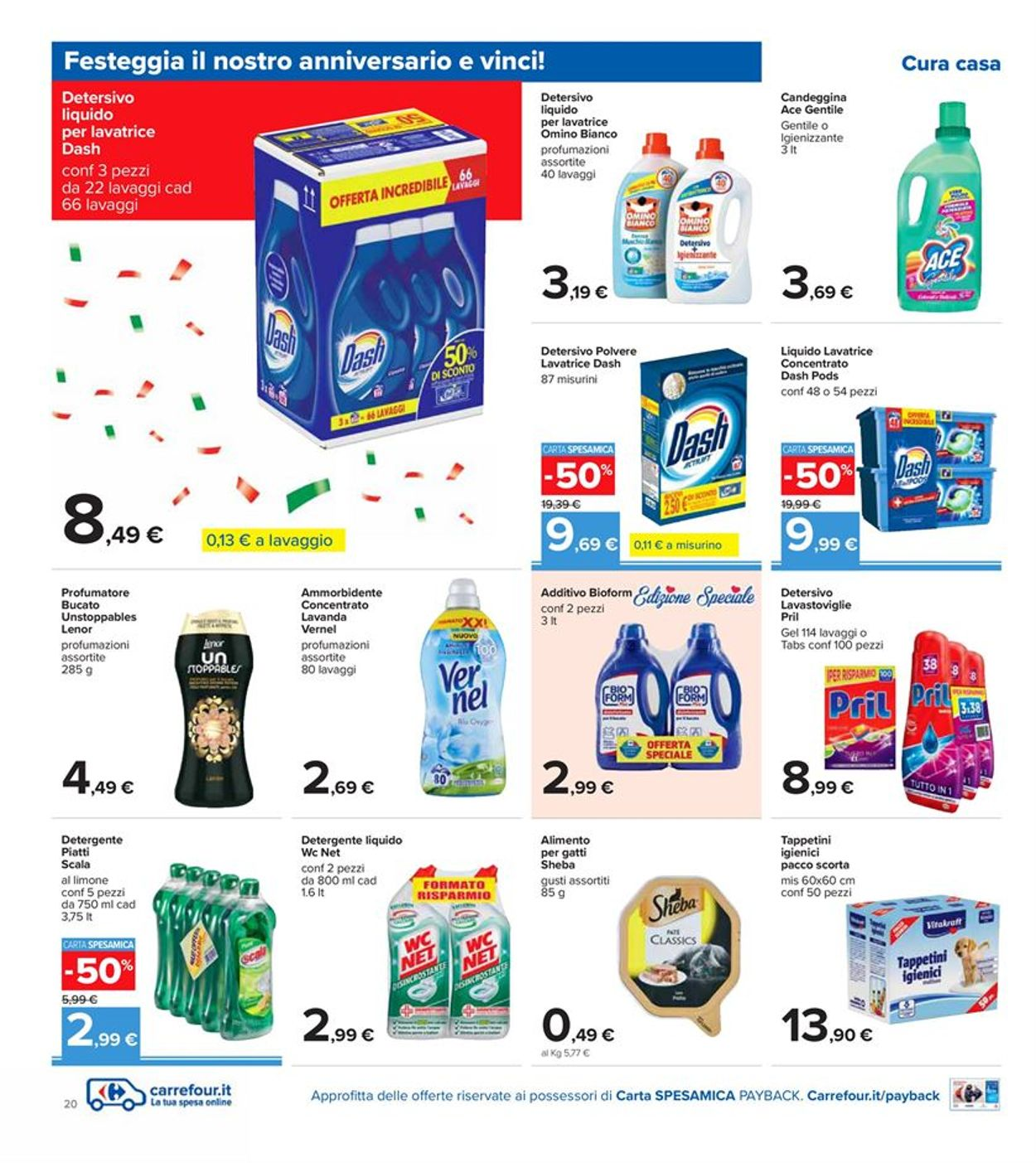 Volantino Carrefour - Offerte 09/10-19/10/2020 (Pagina 20)