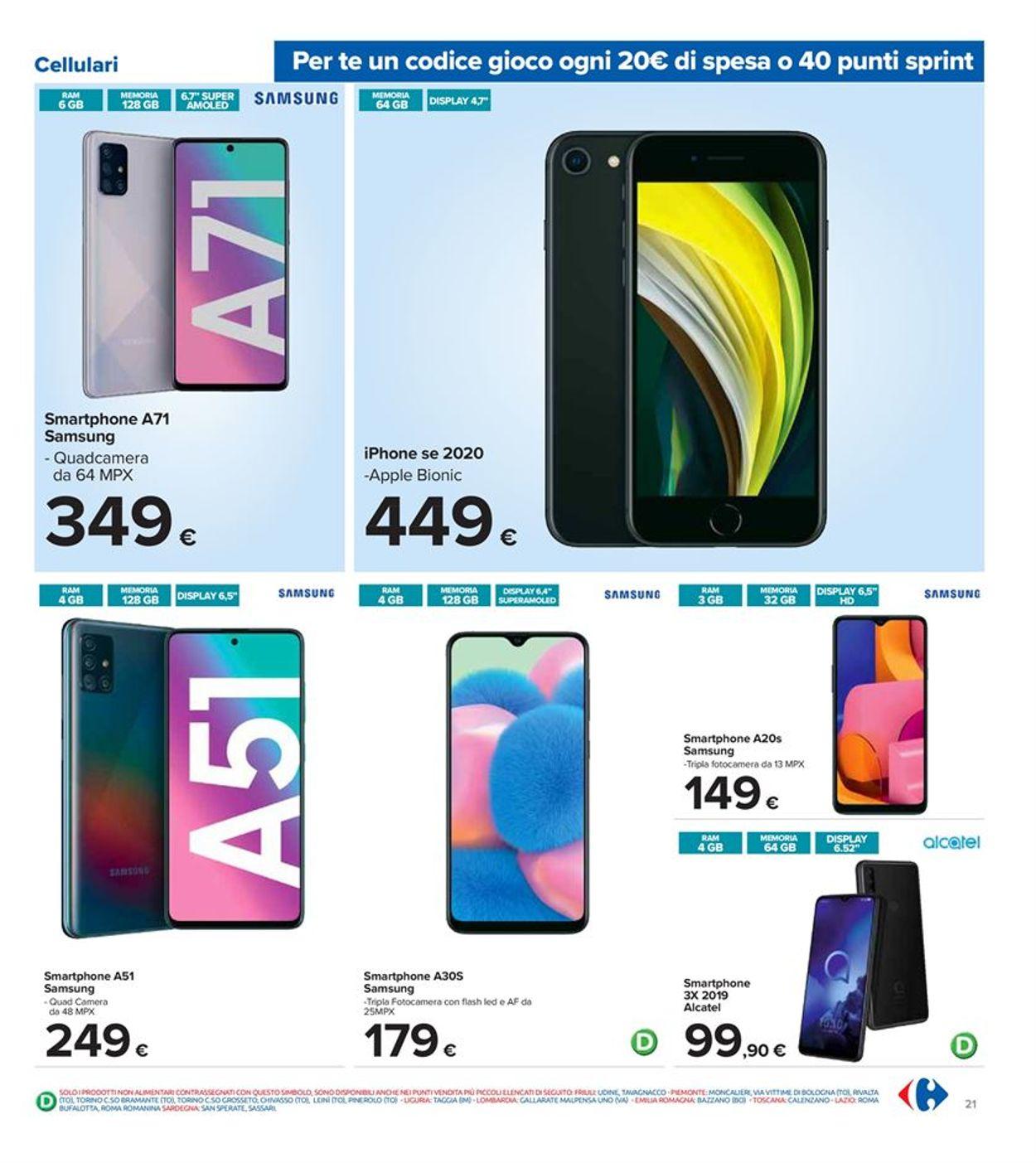 Volantino Carrefour - Offerte 09/10-19/10/2020 (Pagina 21)