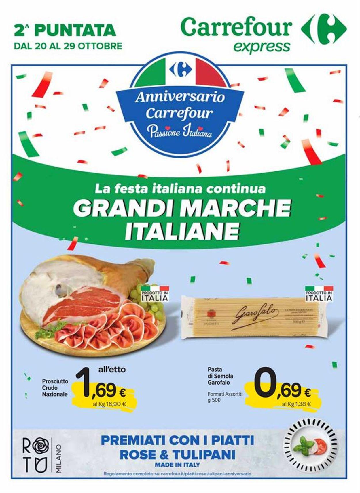 Volantino Carrefour - Offerte 20/10-29/10/2020