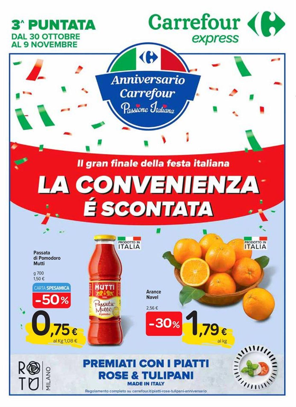 Volantino Carrefour - Offerte 30/10-09/11/2020